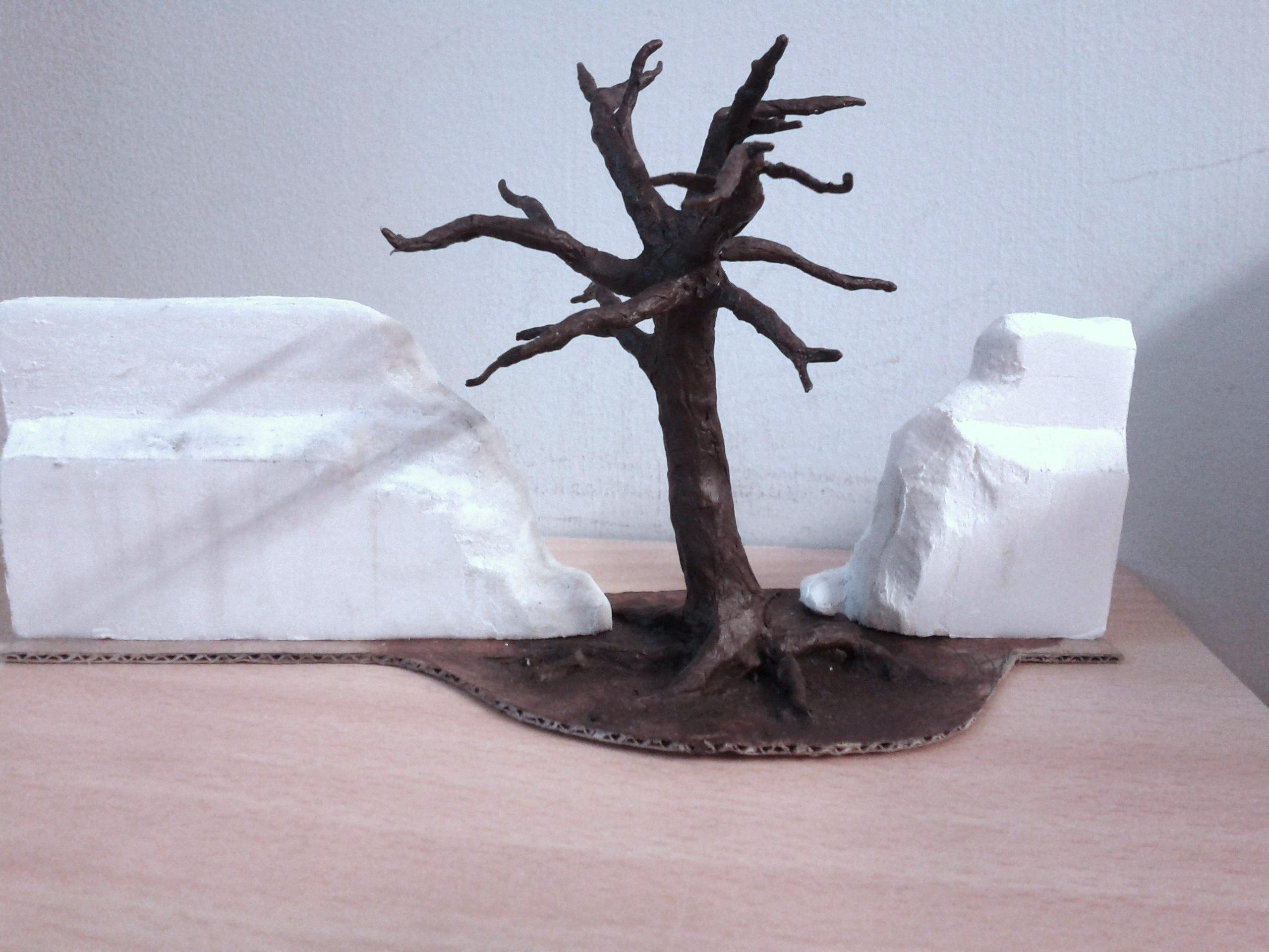WIP tree wall