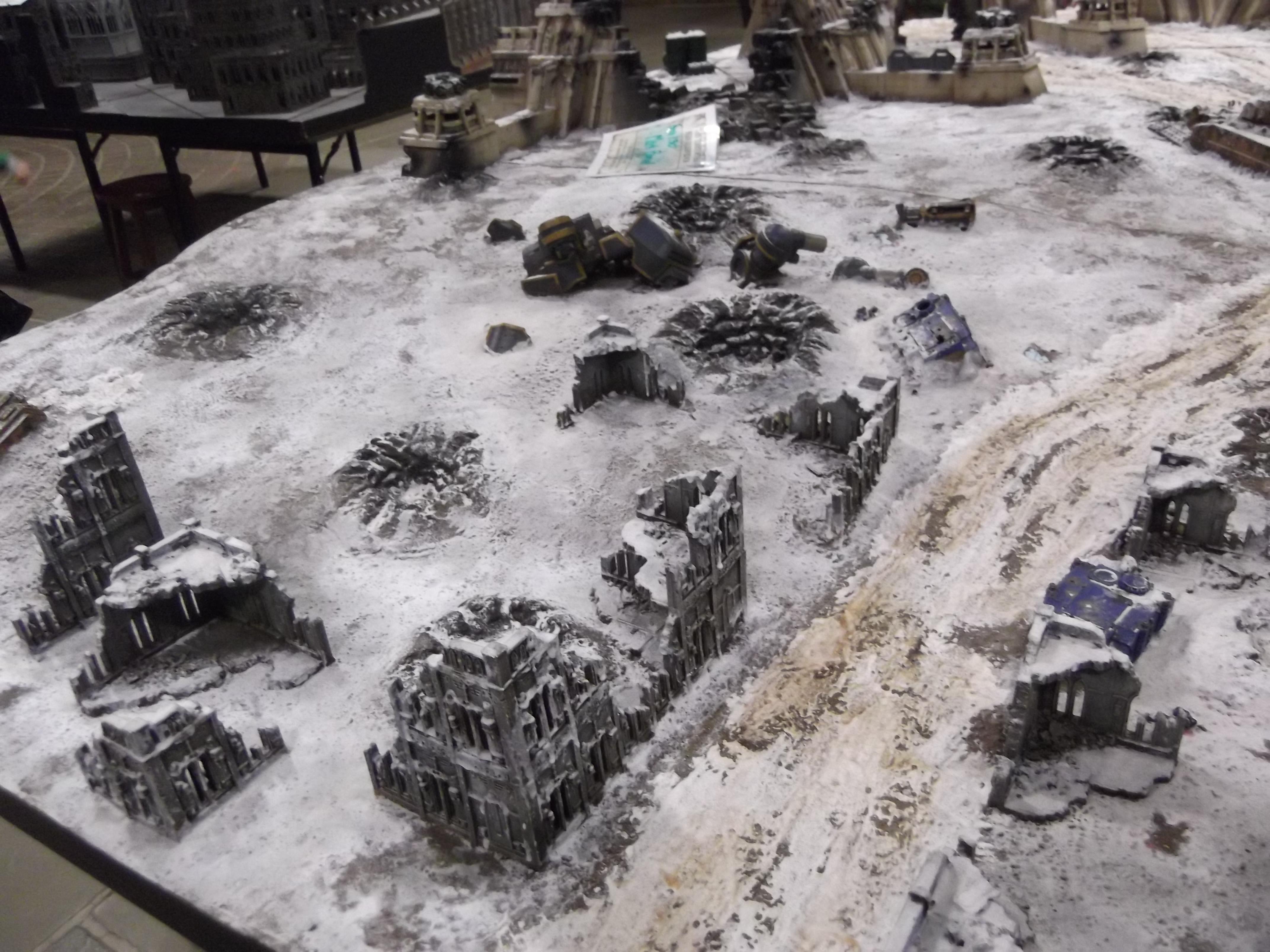 Ruins, Snow, Terrain