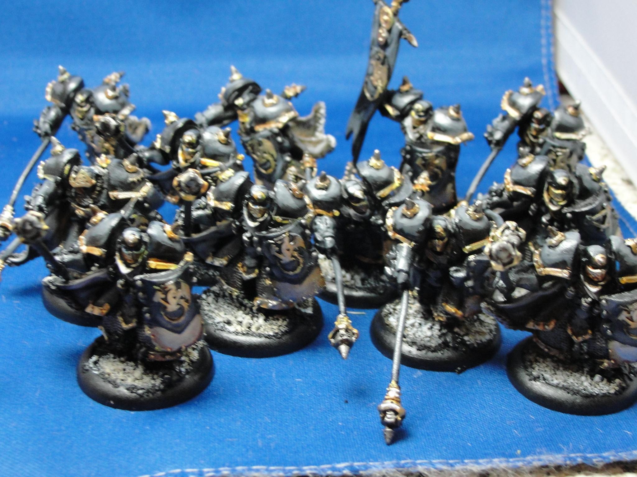 Warmachine, Khador, Iron Fang Black Dragons