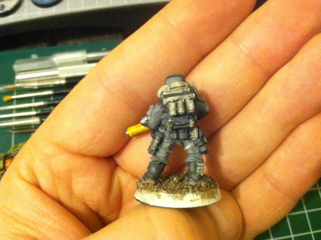 Storm Trooper #1 WIP (rear)