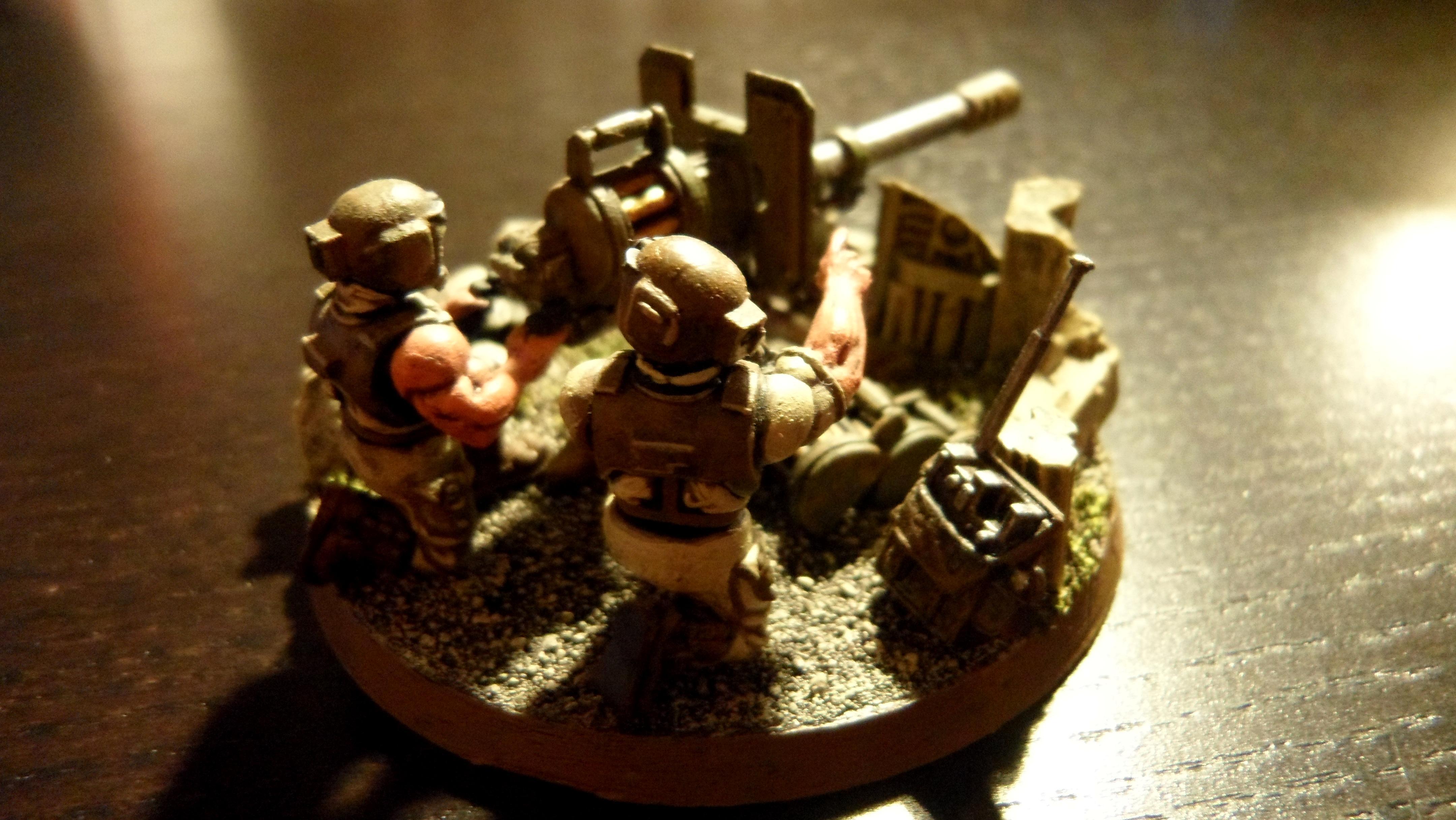 Big Gunz, Diorama, Imperial Guard, Imperial Guard Diorama