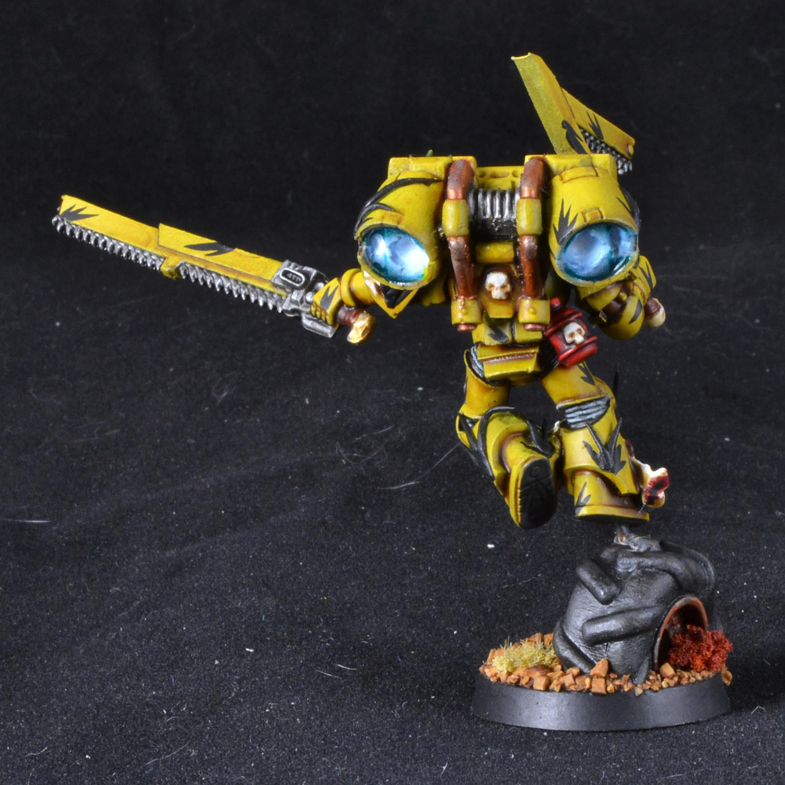 Gms, Mantis Warrior, Object Source Lighting, Space Marines, Tranquility Camo, Vanguard, Warhammer 40,000