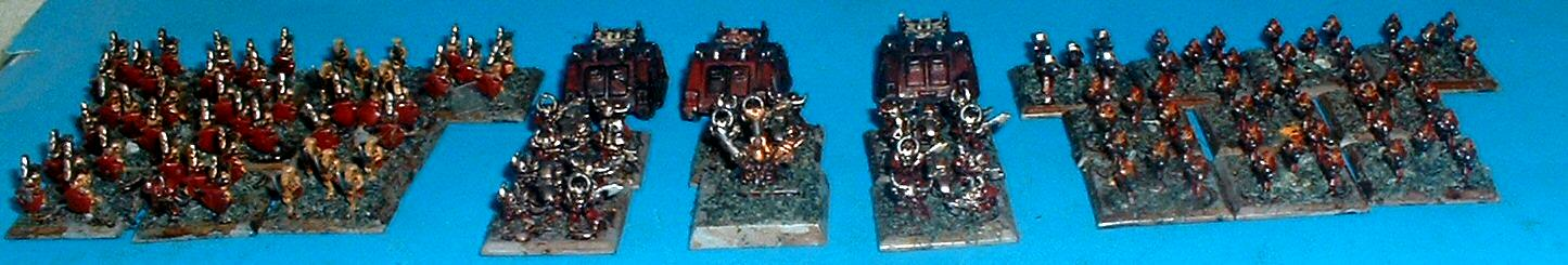 6mm, Chaos, Epic, Word Bearers Renegades