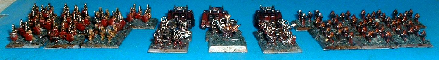 6mm, Chaos, Epic, Word Bearers Renegades 2