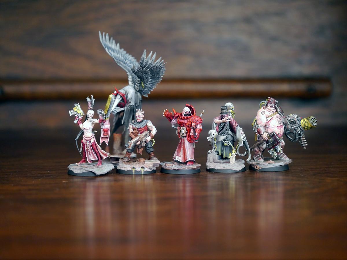 Awesome, Daemon Host, Henchmen, Inquisitor, Radical