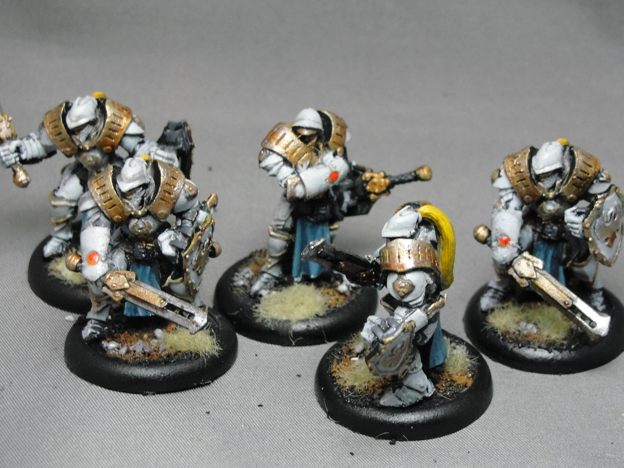 Warmachine, Cygnar, Sword Knights