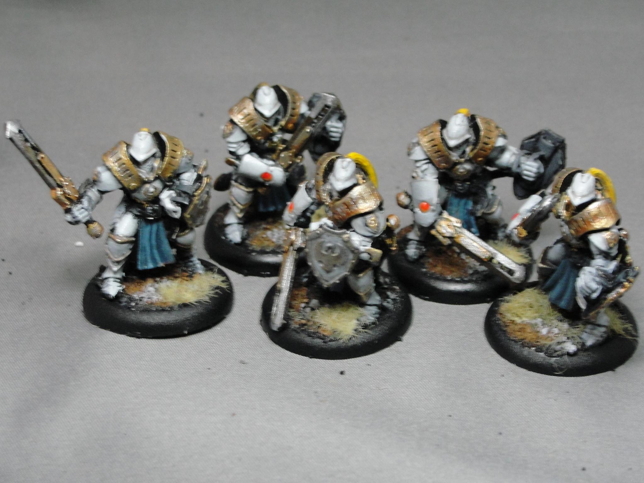 Warmachine, Cygnar, Sword Knights