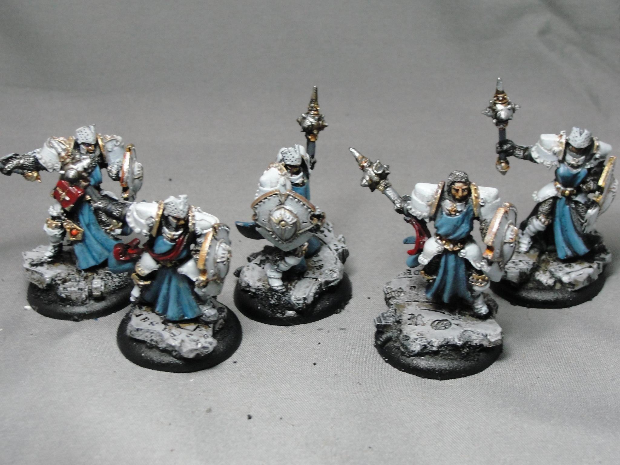 Warmachine, Cygnar, Mercenaries, Precursor Knights