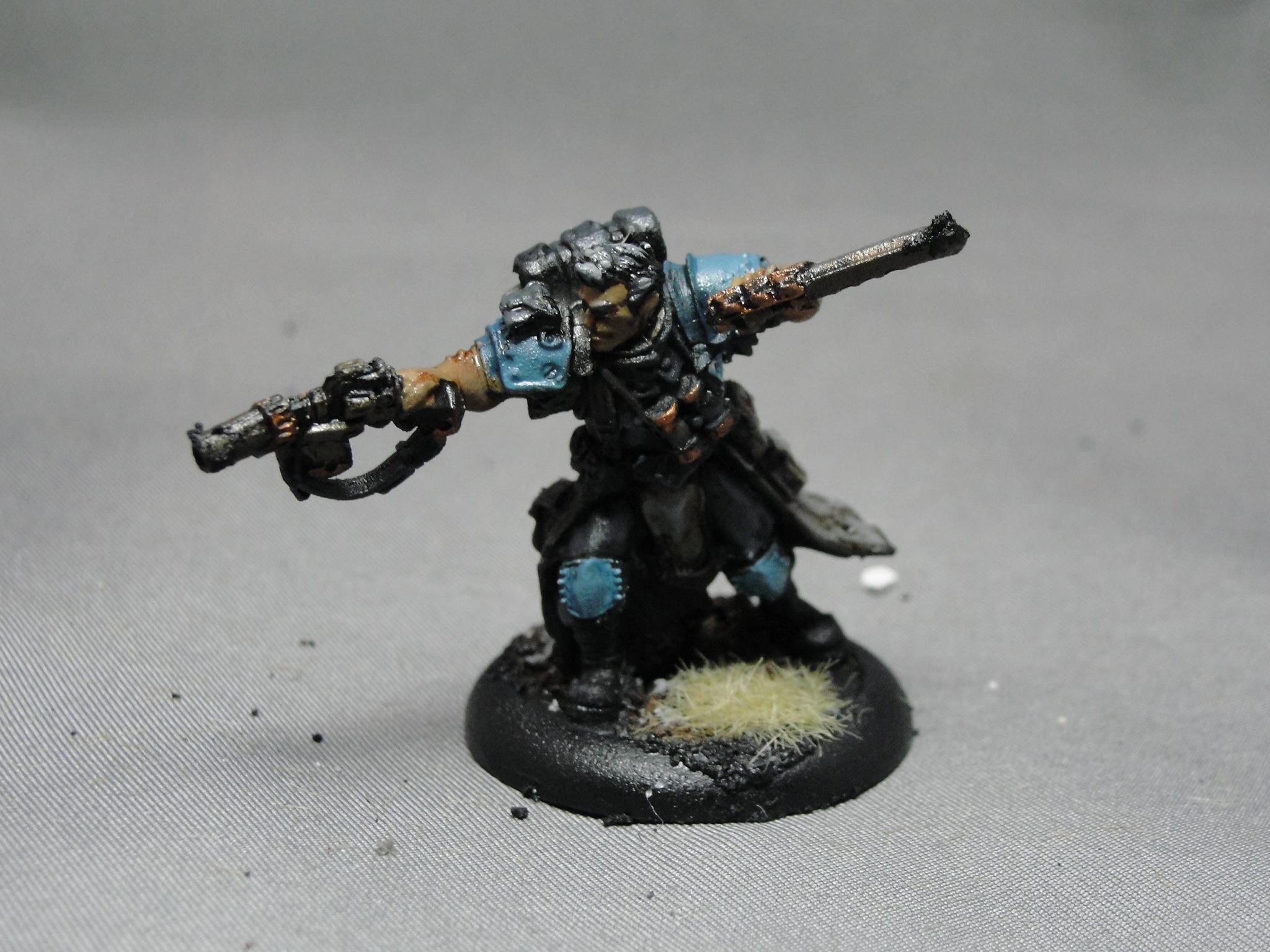 Warmachine, Cygnar, Captain Jonas Murdoch