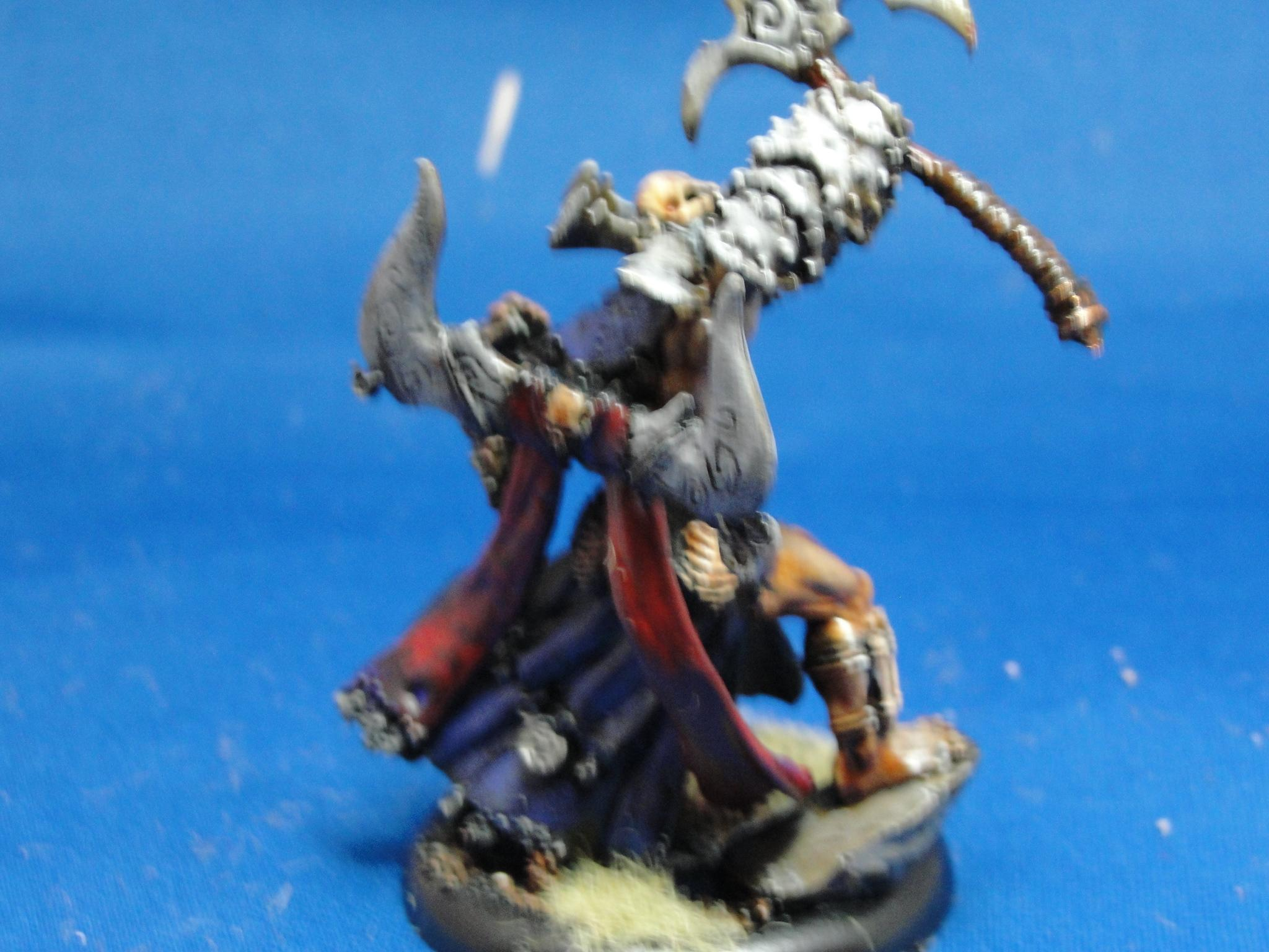 Hordes, Circle Orboros, Tharn Ravagers, Chieftain