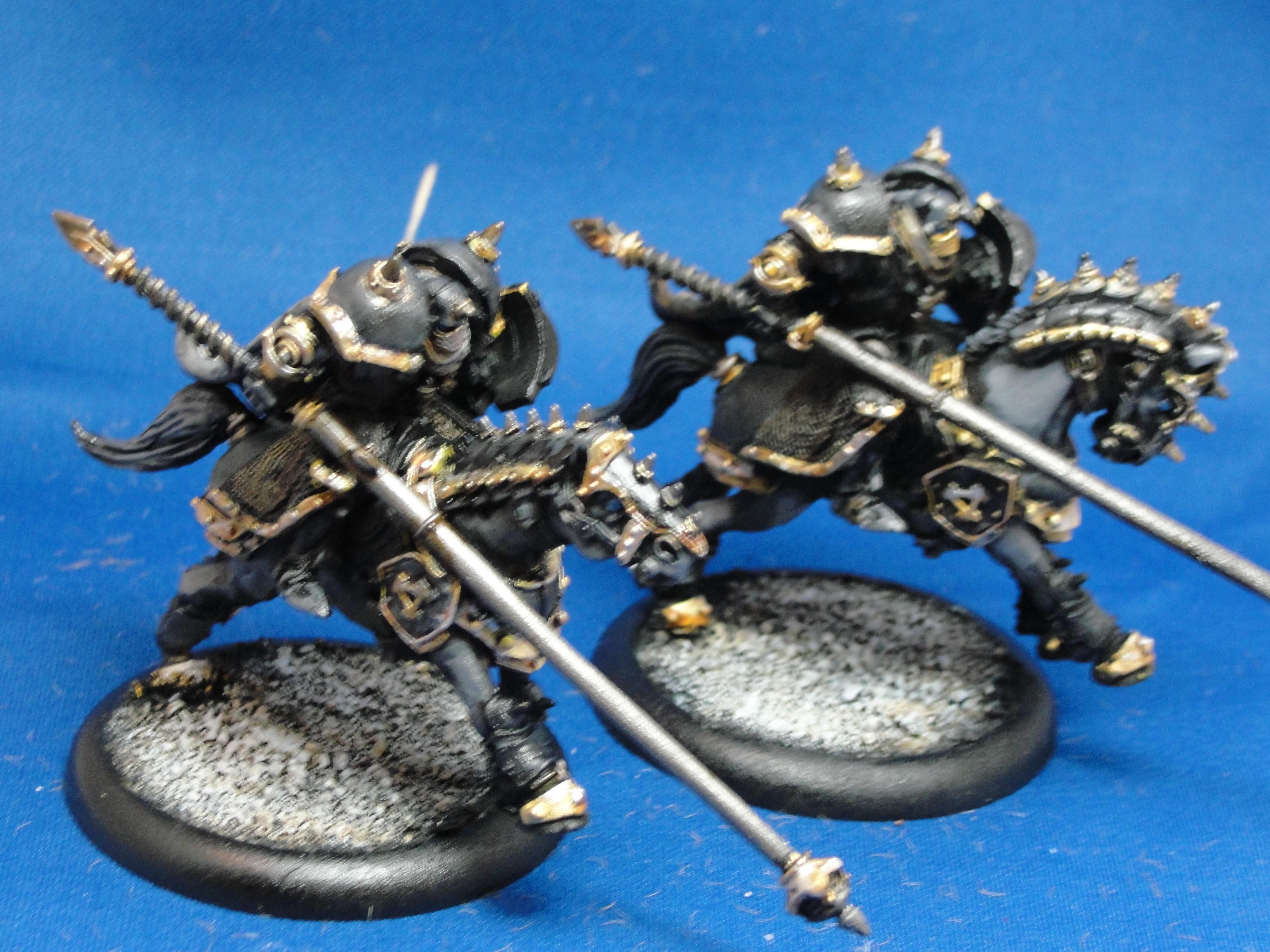 Warmachine, Khador, Iron Fang Uhlans