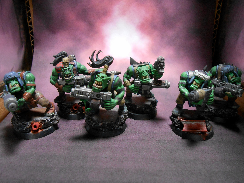 Blood Axe, Blood Axe Clan, Boy, Orcs, Orks