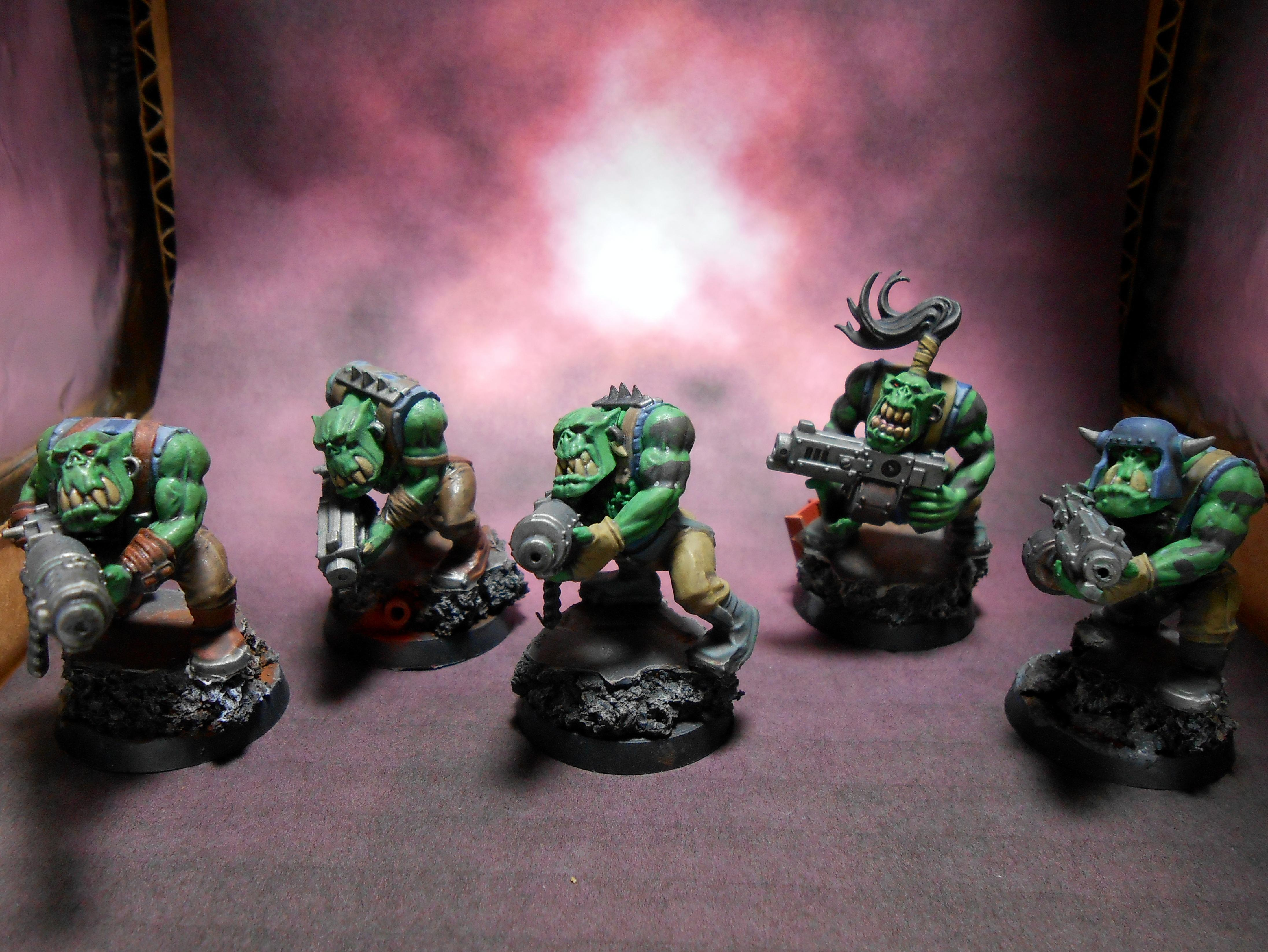 Blood Axe Clan, Orcs, Orks