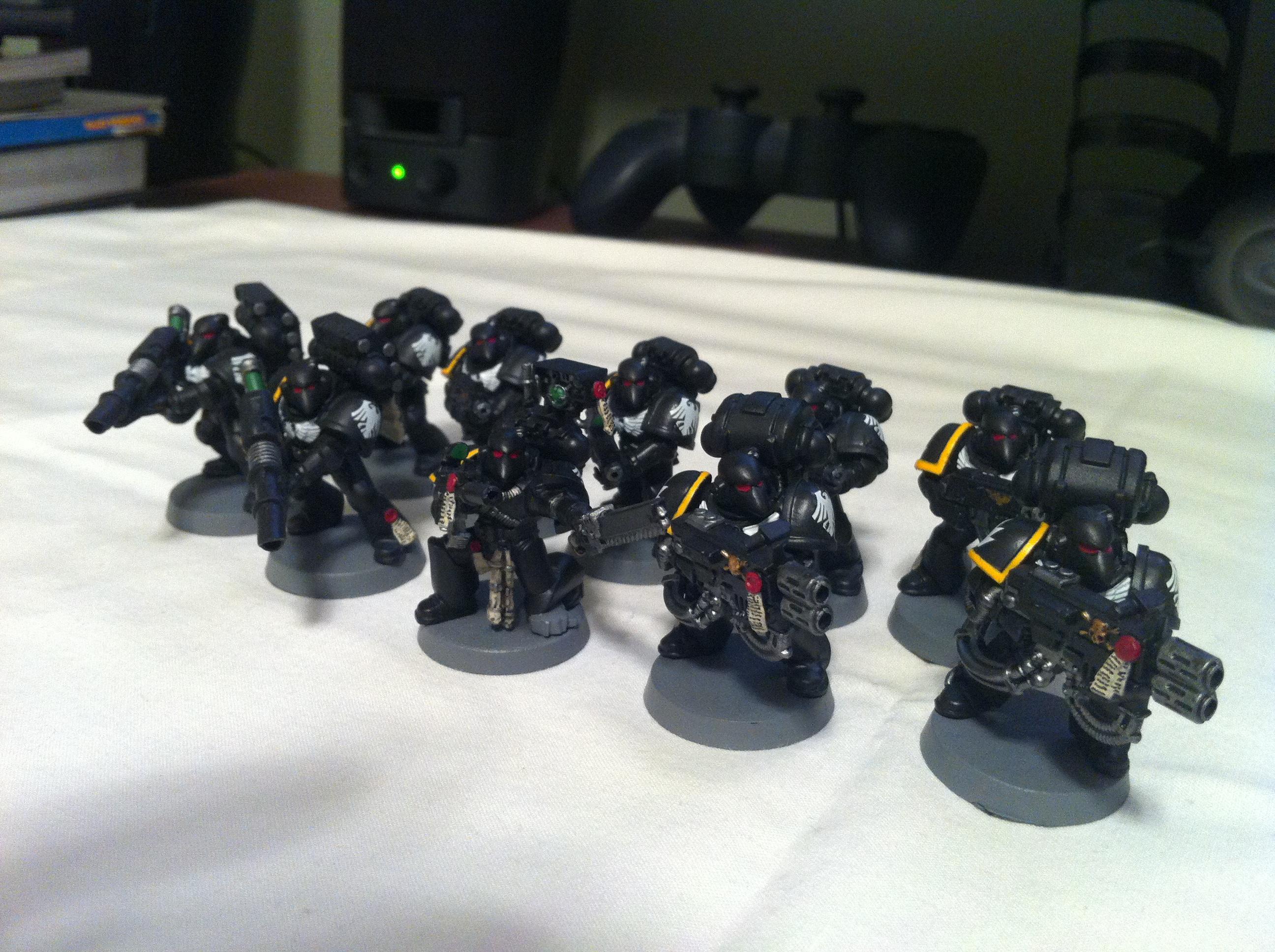 Beakie, Mk6, Mkvi, Raven Guard, Space Marines