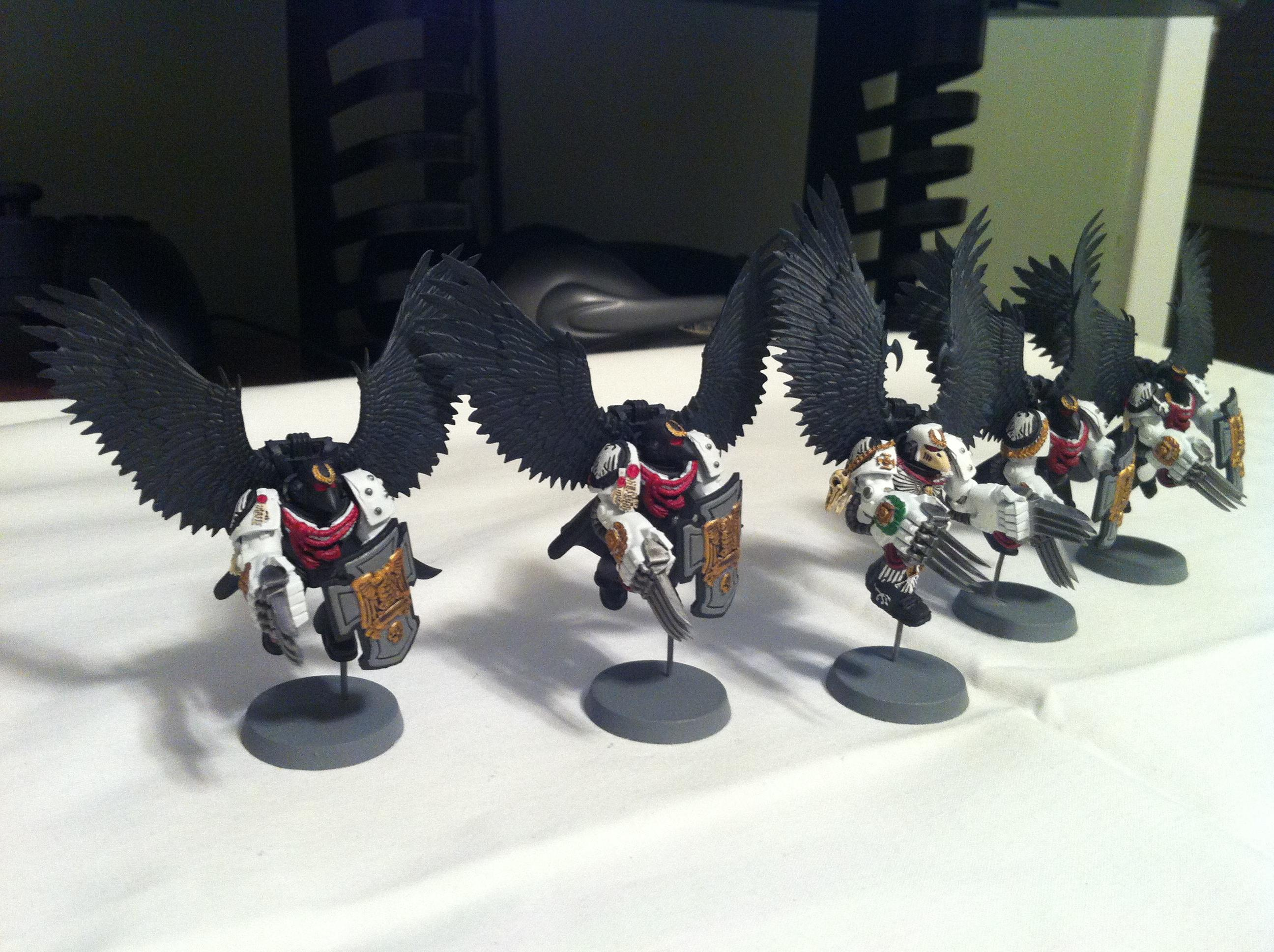 Beakie, Custom, Mk6, Mkvi, Raven Guard, Scourge, Space Marines, Vanguard, Veteran