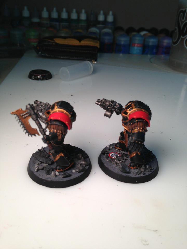 Cataphractii, Justaerin, Sons Of Horus, Tda, Terminator Armor