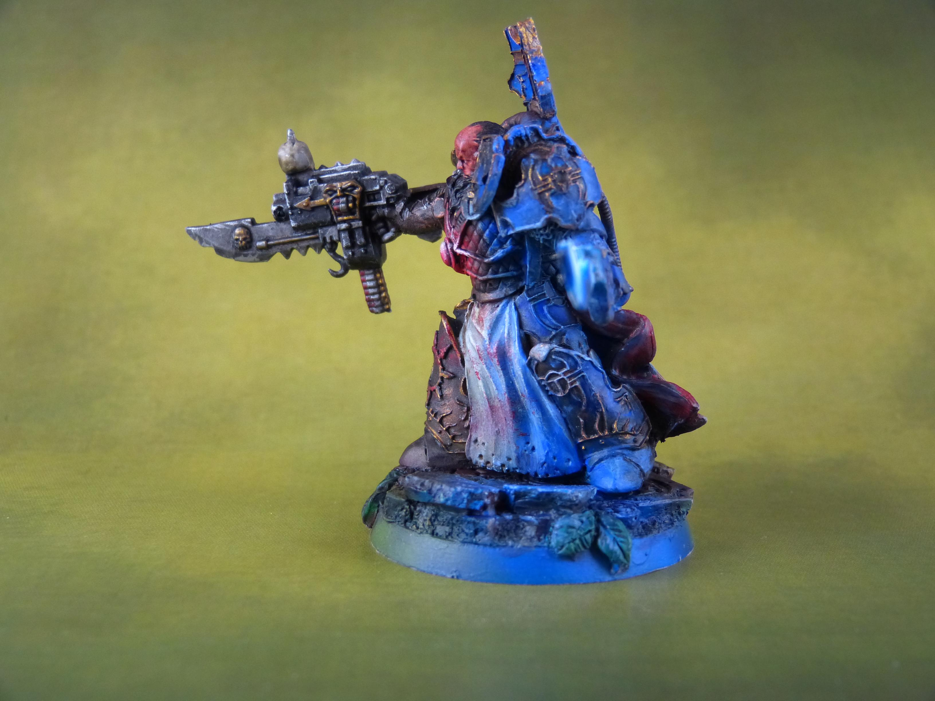 Chaos, Conversion, Object Source Lighting, Power Sword, Thousand Sons, Warhammer 40,000