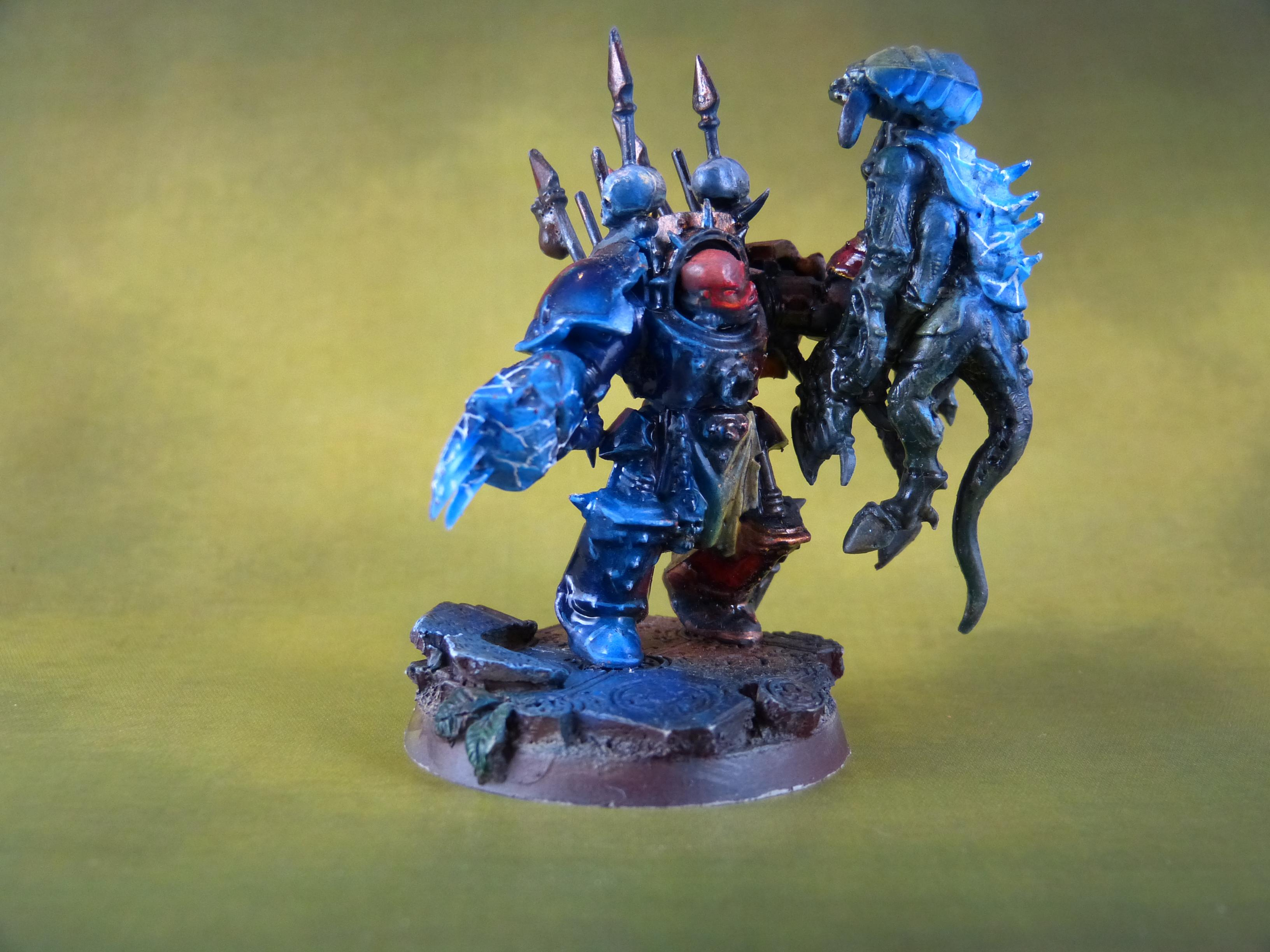 Airbrush, Chaos, Chaos Space Marines, Conversion, Object Source Lighting, Power Claw, Termagants, Terminator Armor, Tyranids, Warhammer 40 K