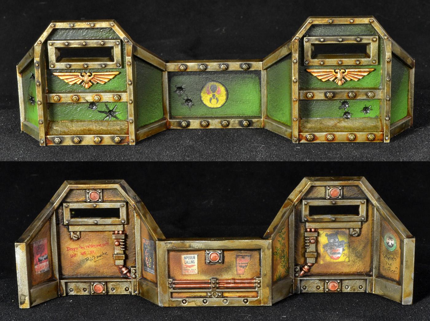 Aegis Defense Line, Fortifications, Mantis Warriors, Warhammer 40,000