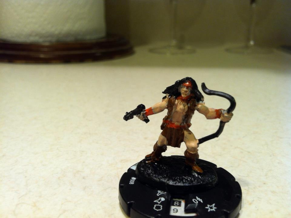 Superhero, Apache chief