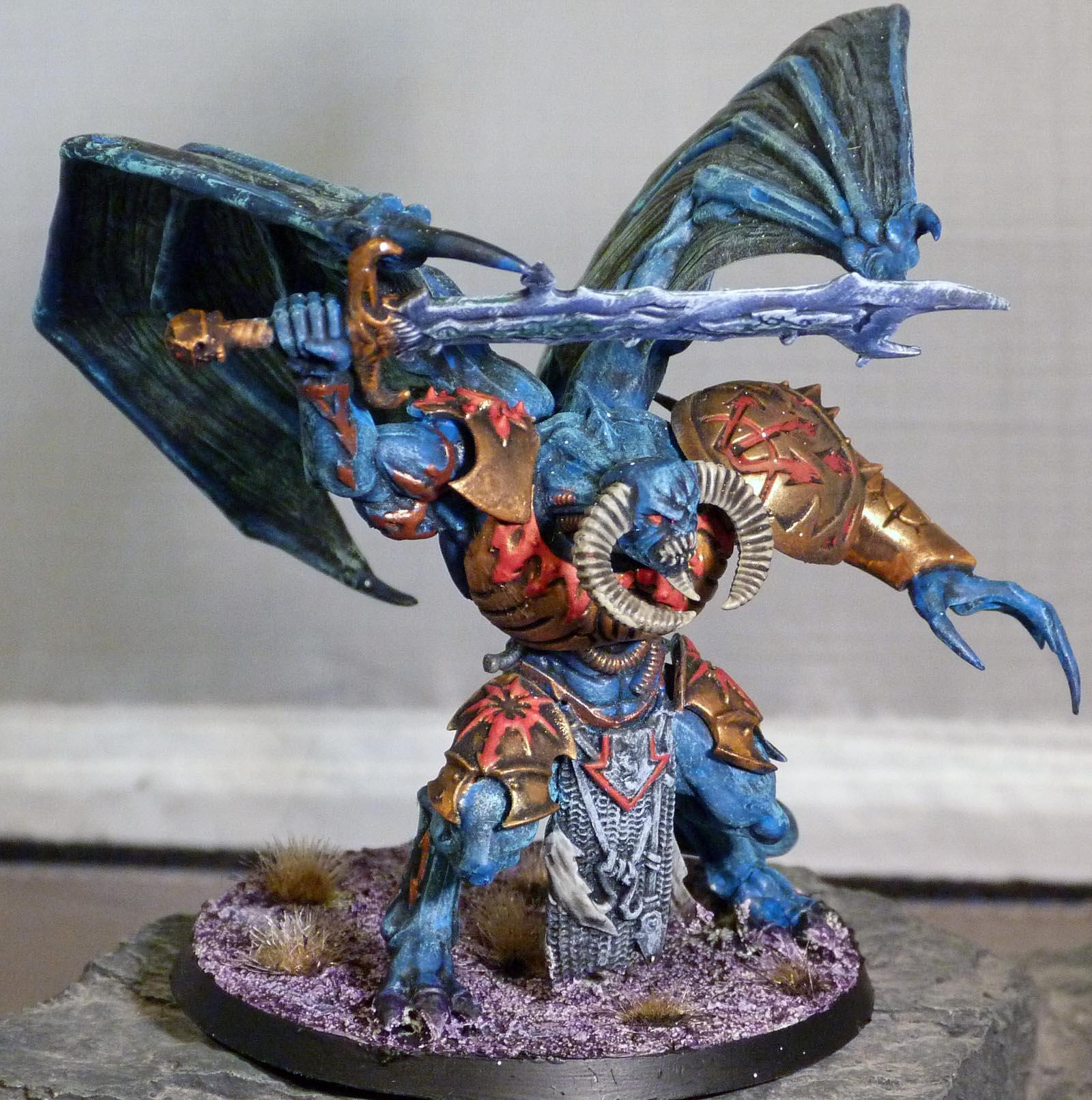 Daemons, Demon prince of tzeentch