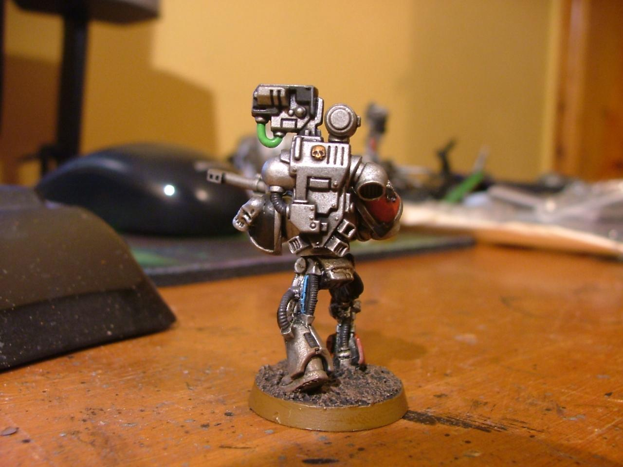 Finished marine from Hestans squad