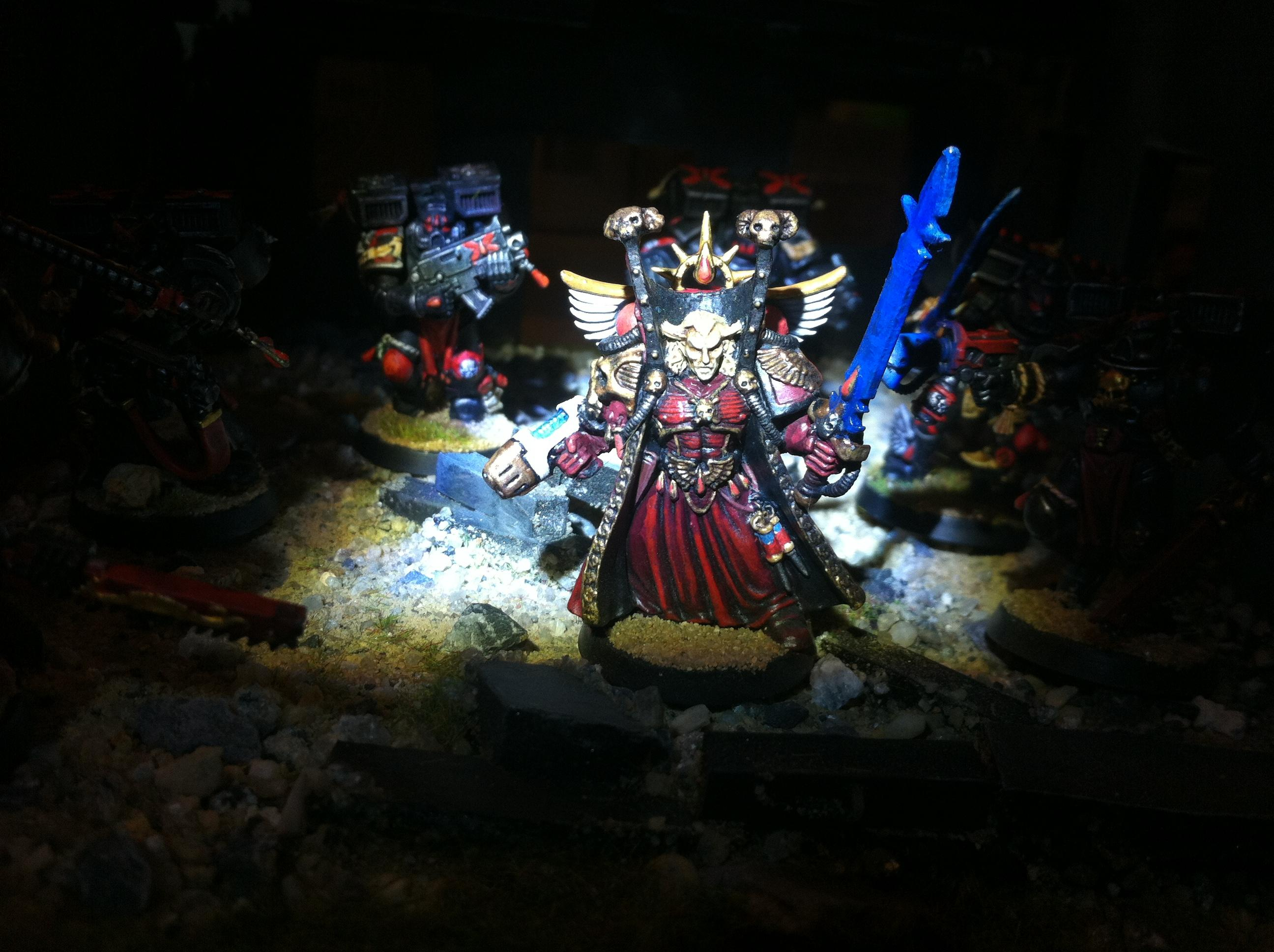 Angels Sanguine, Blood Angels, Dreadnought, Furioso, Mephiston, Sanguine, Space Marines, Warhammer 40,000