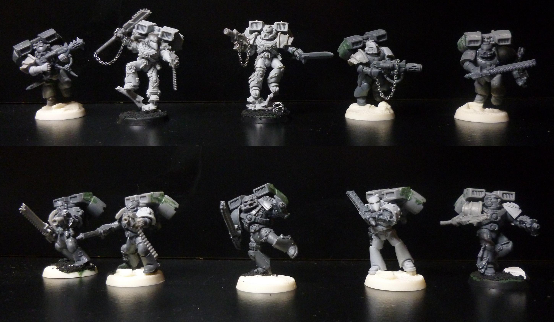 Angels Amaranthine.  Second Assault Squad wip
