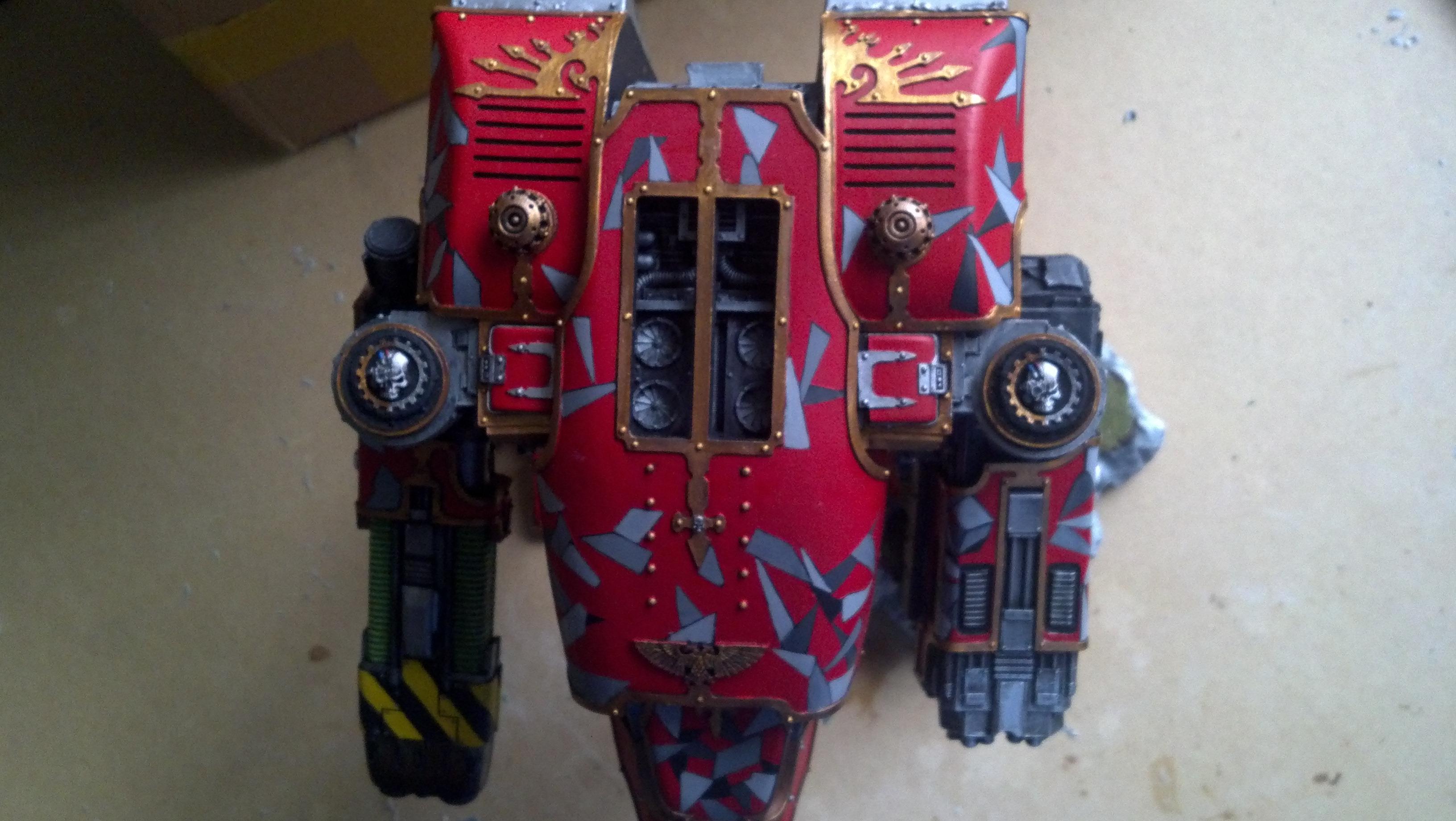 Camouflage, Mega Vulcan Bolter, Plasma, Scouts, Titan, War Hound