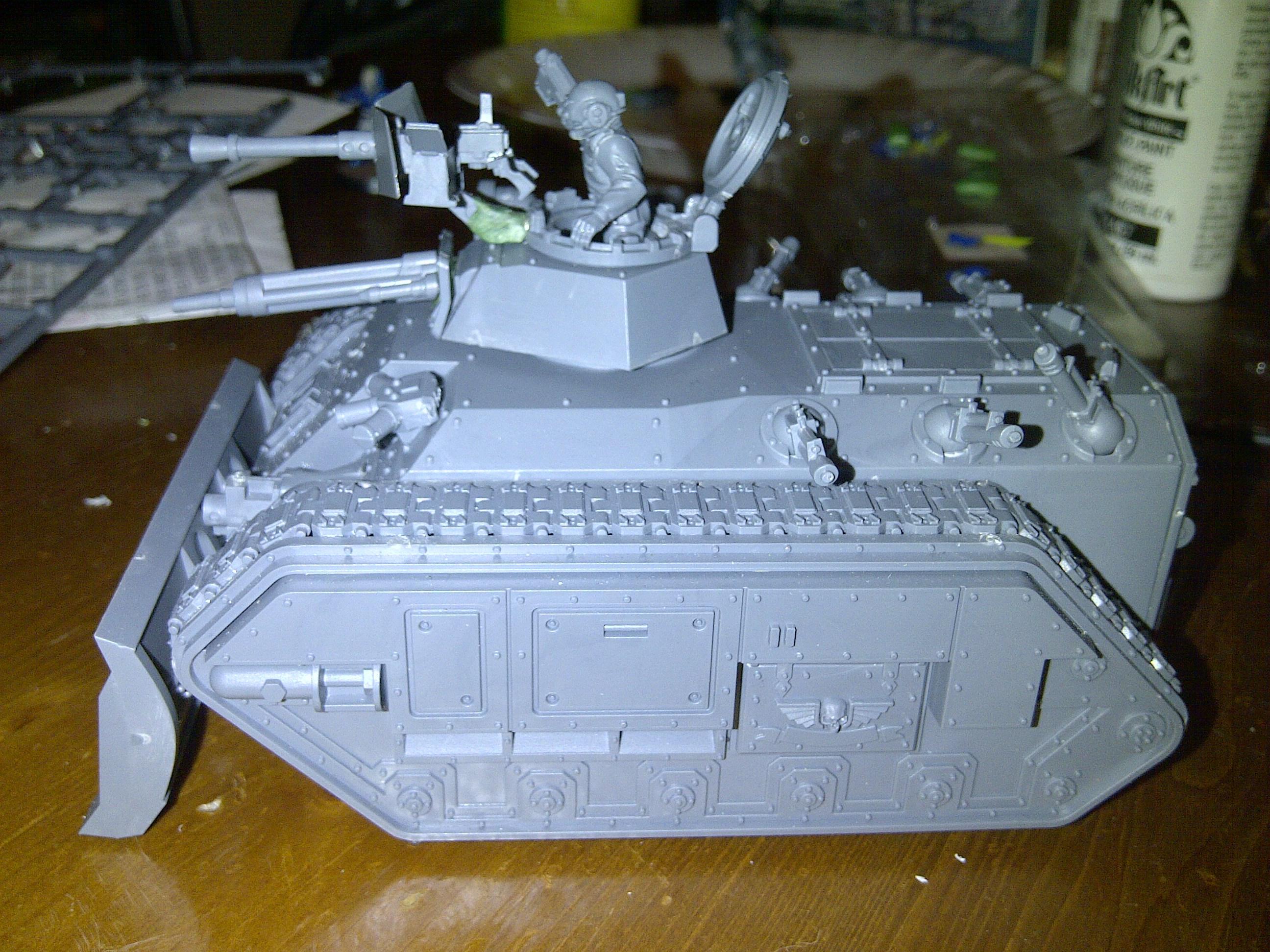 Chimera, Dozer Blade, Heavy Stubber, Magnet, Multilaser, Tank, Transport, Work In Progress