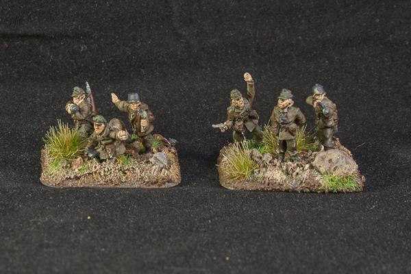 15mm, Battlefront, Command, Flames Of War, Gebirgsjaeger, Gebirgsjager, Germans, Headquarters, Historical, Infantry, Mountain Infantry, World War 2