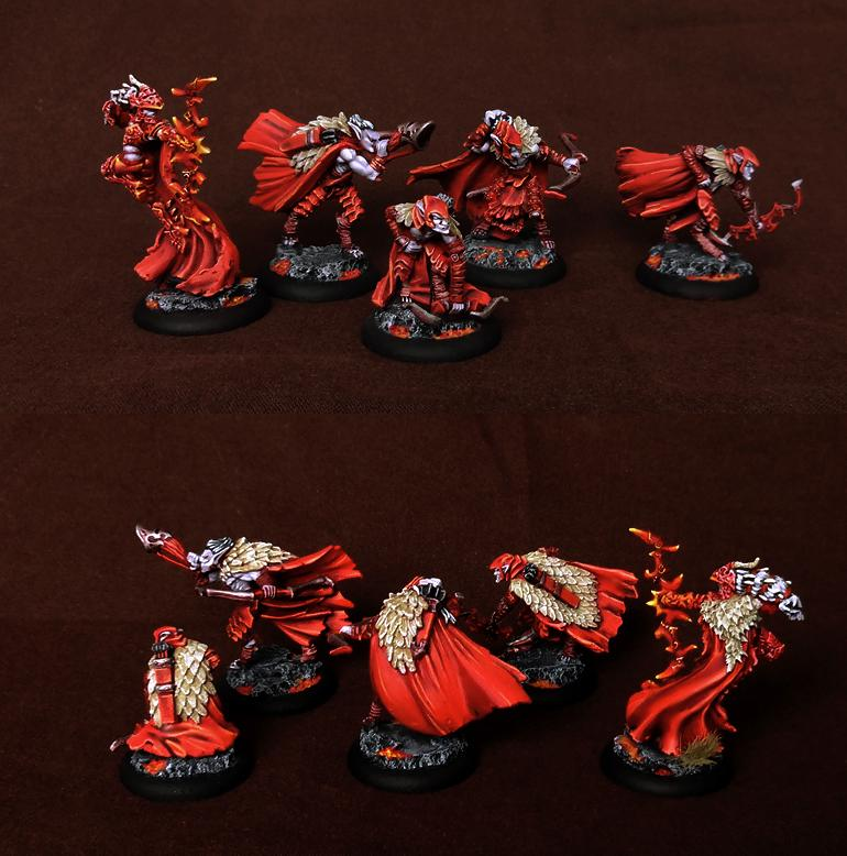 Everblight, Hordes, Legion, Nyss, Strider, Striders, Unit, Warlock
