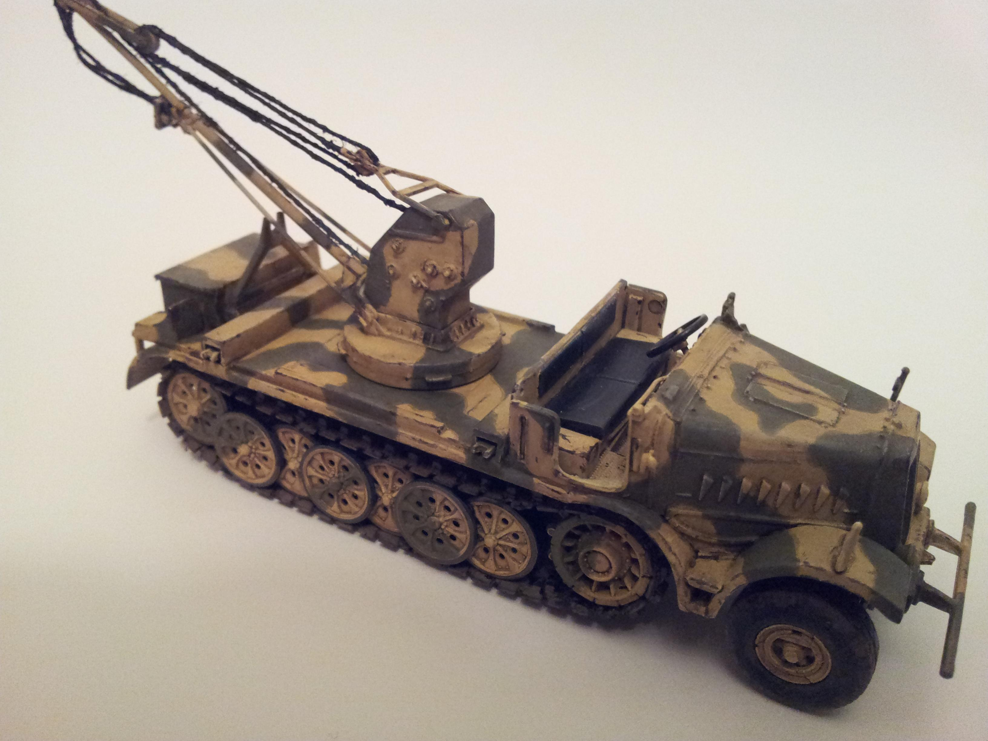 1/72, Famo' Sdkfz 9, Germans, Recovery Vehicle, World War 2