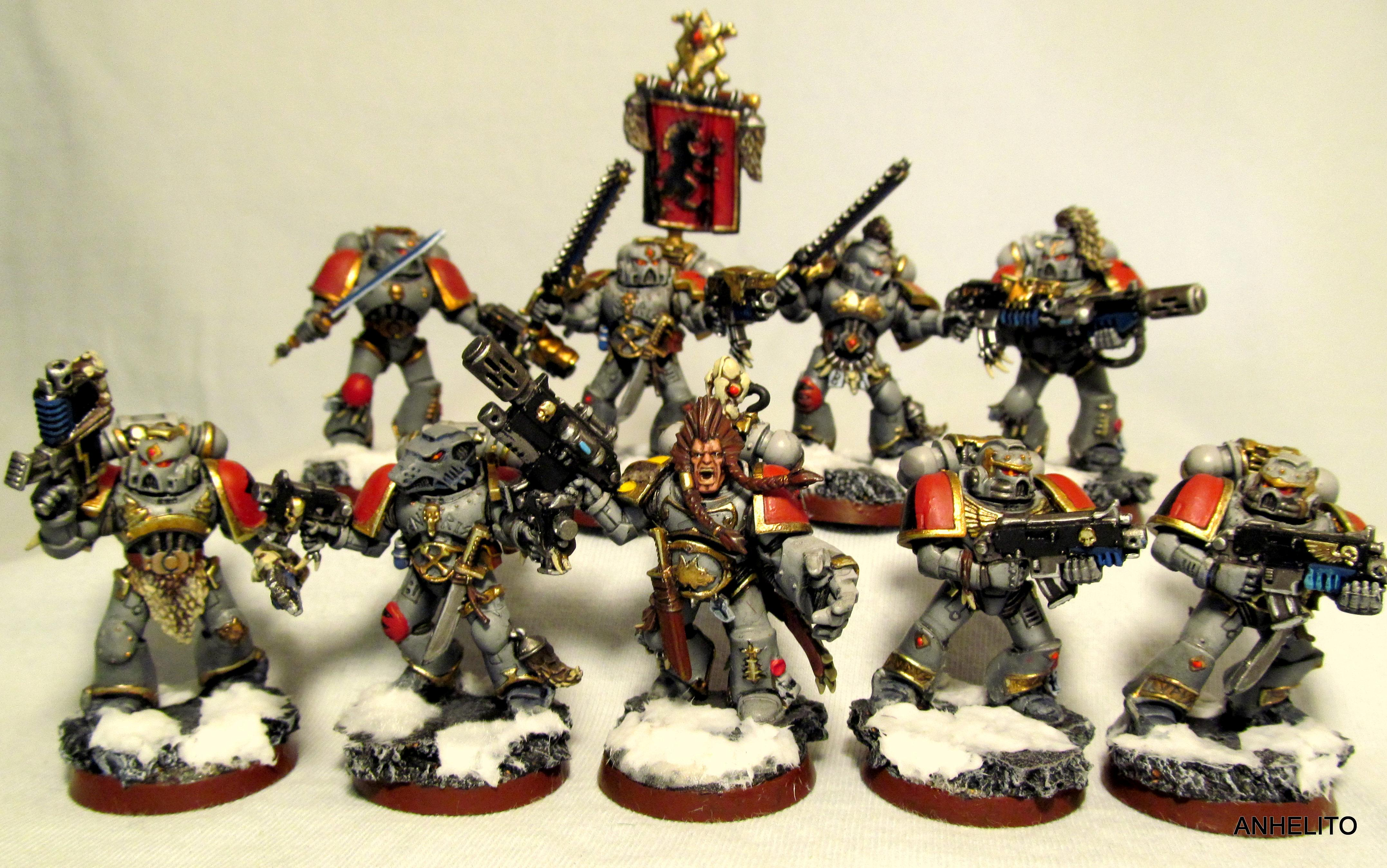 Space Wolves, space wolves squad 1