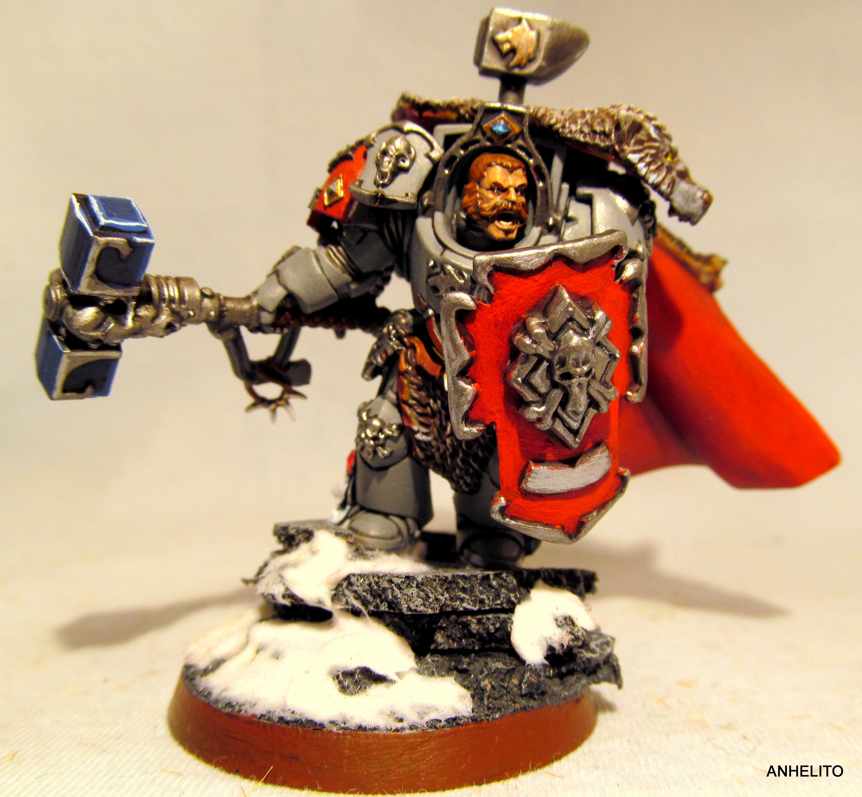 Arjac Rockfist, Space Wolves