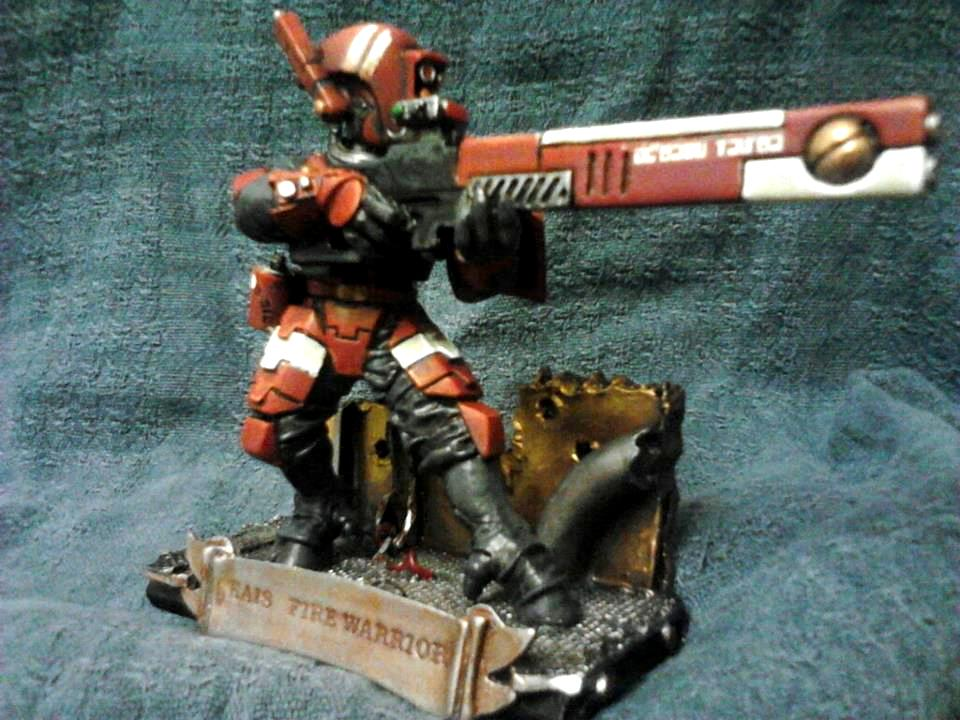 Barmy Bakers Miniatures, Fire Warriors, Kais, Tau, Warhammer 40,000