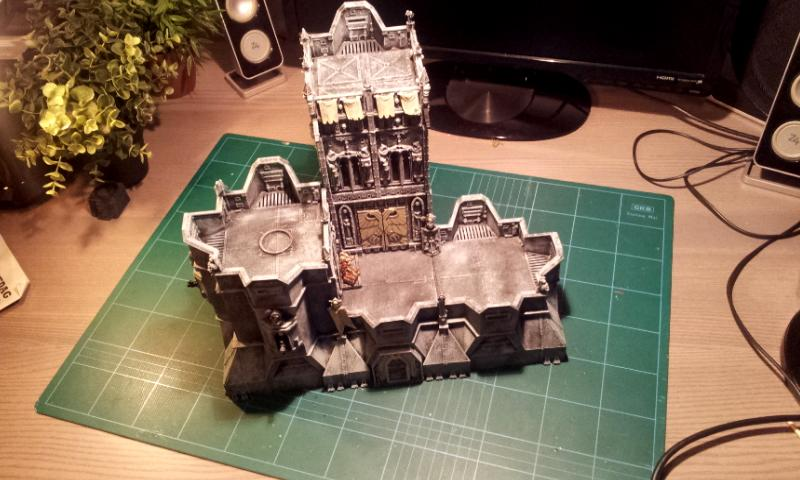 Apocalypse, Fortress Of Redemption, Imperial, Terrain