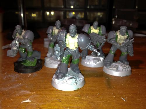 Raven Guard, Scouts, True Scale