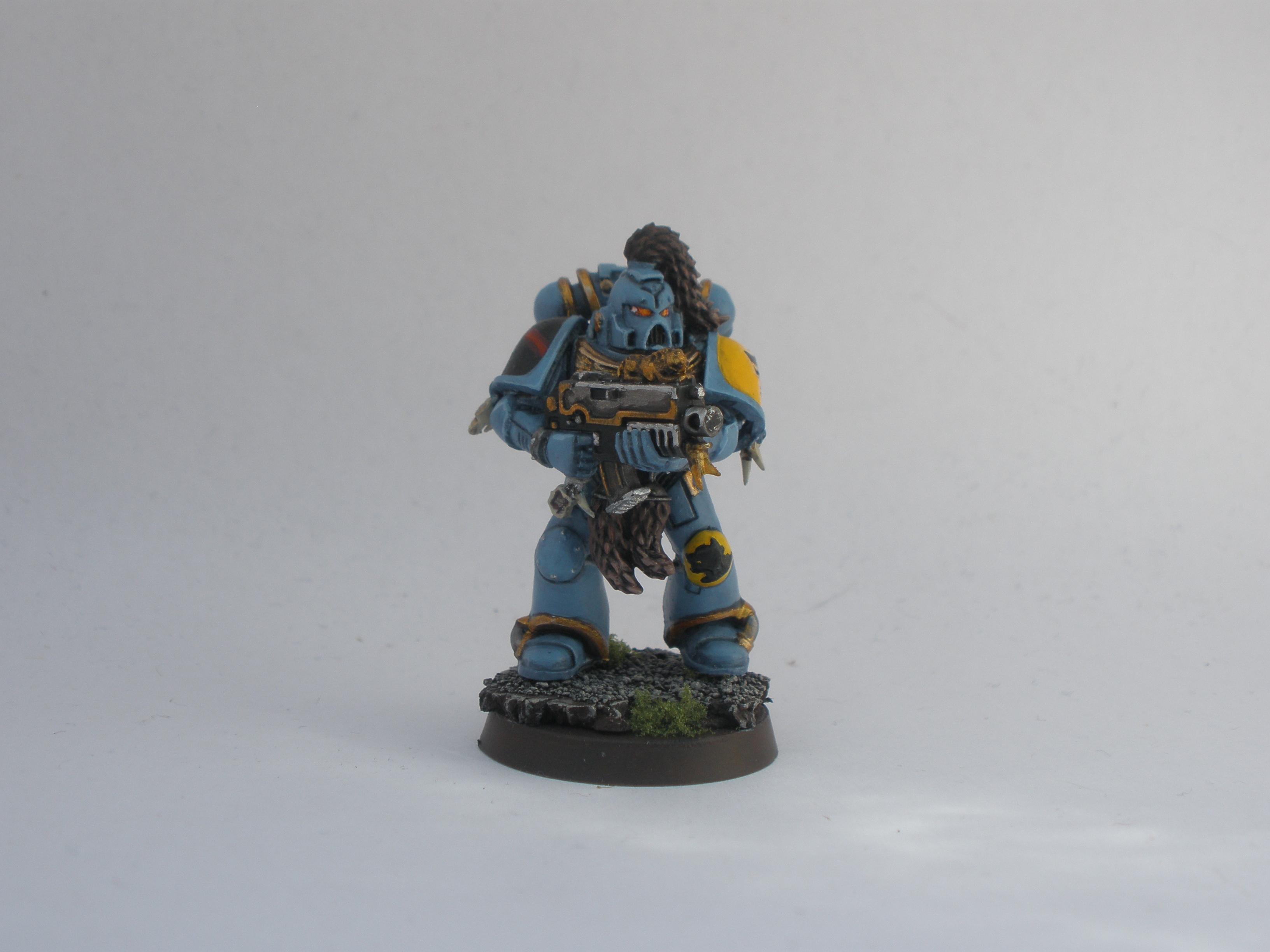 Space, Space Marines, Wolves