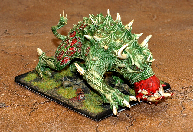 Chaos, Daemons, Forge World, Nurgle, Spined Beast