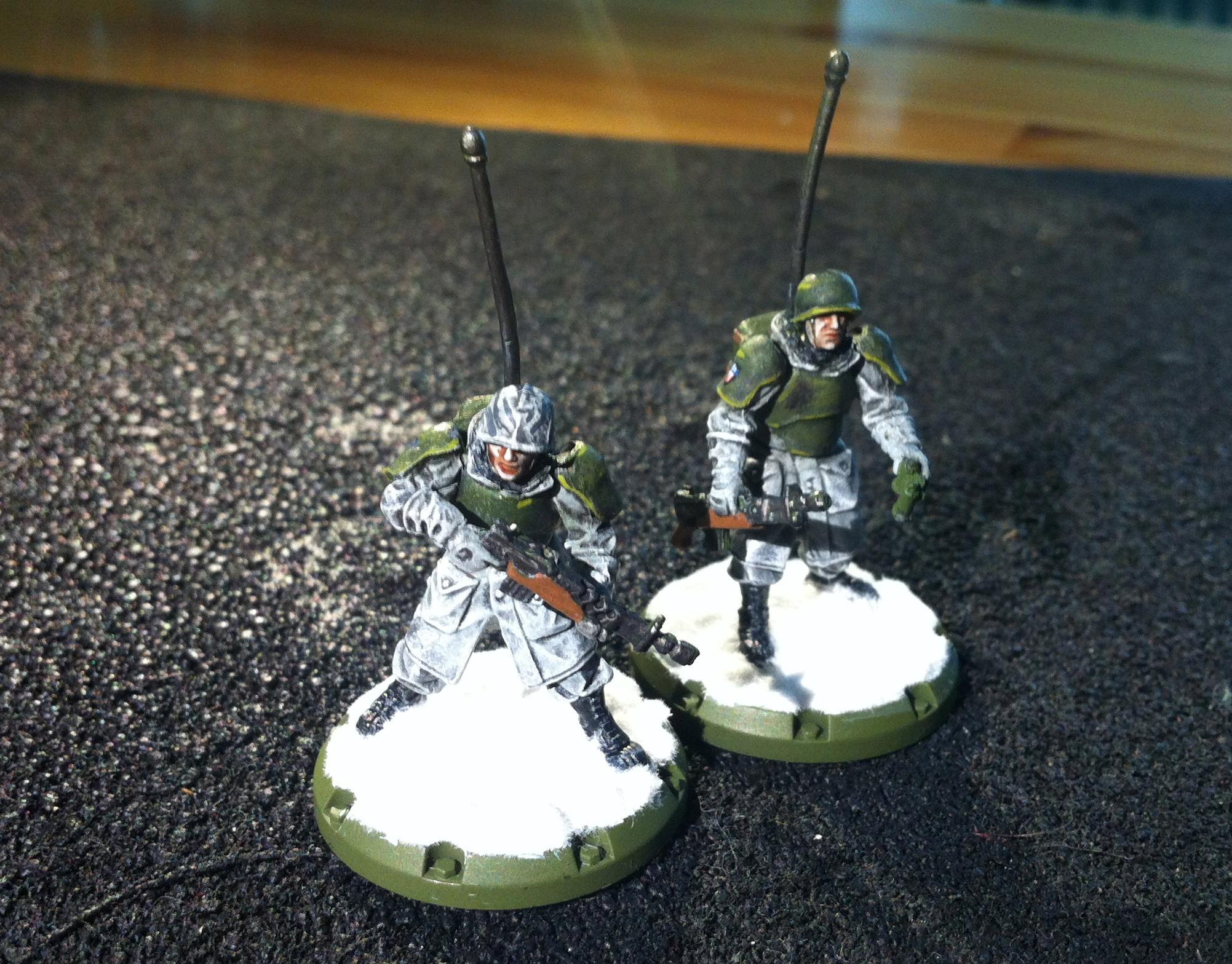 Allies, Axis, Dust Tactics, Radio
