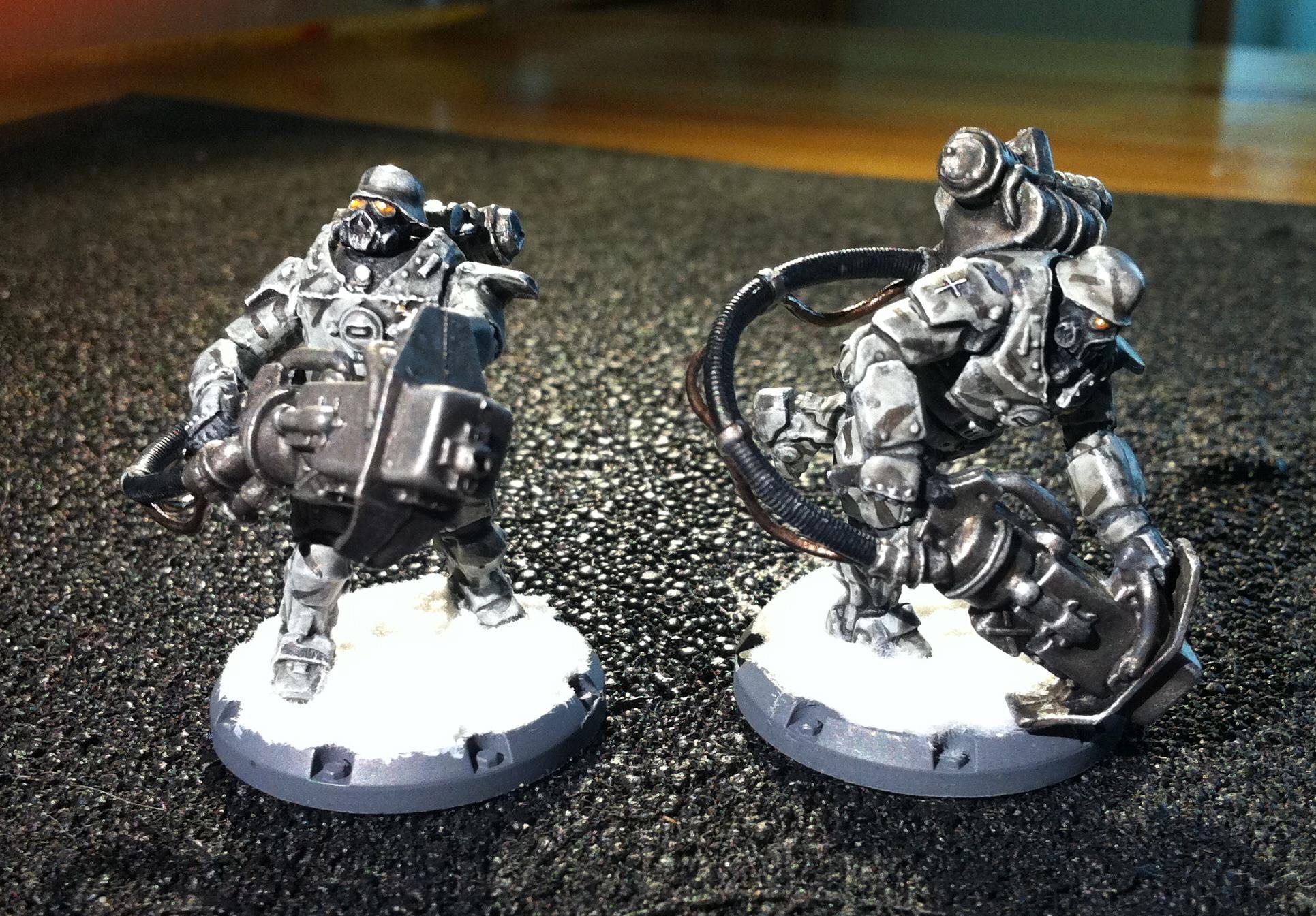 Allies, Axis, Dust Tactics, Laser