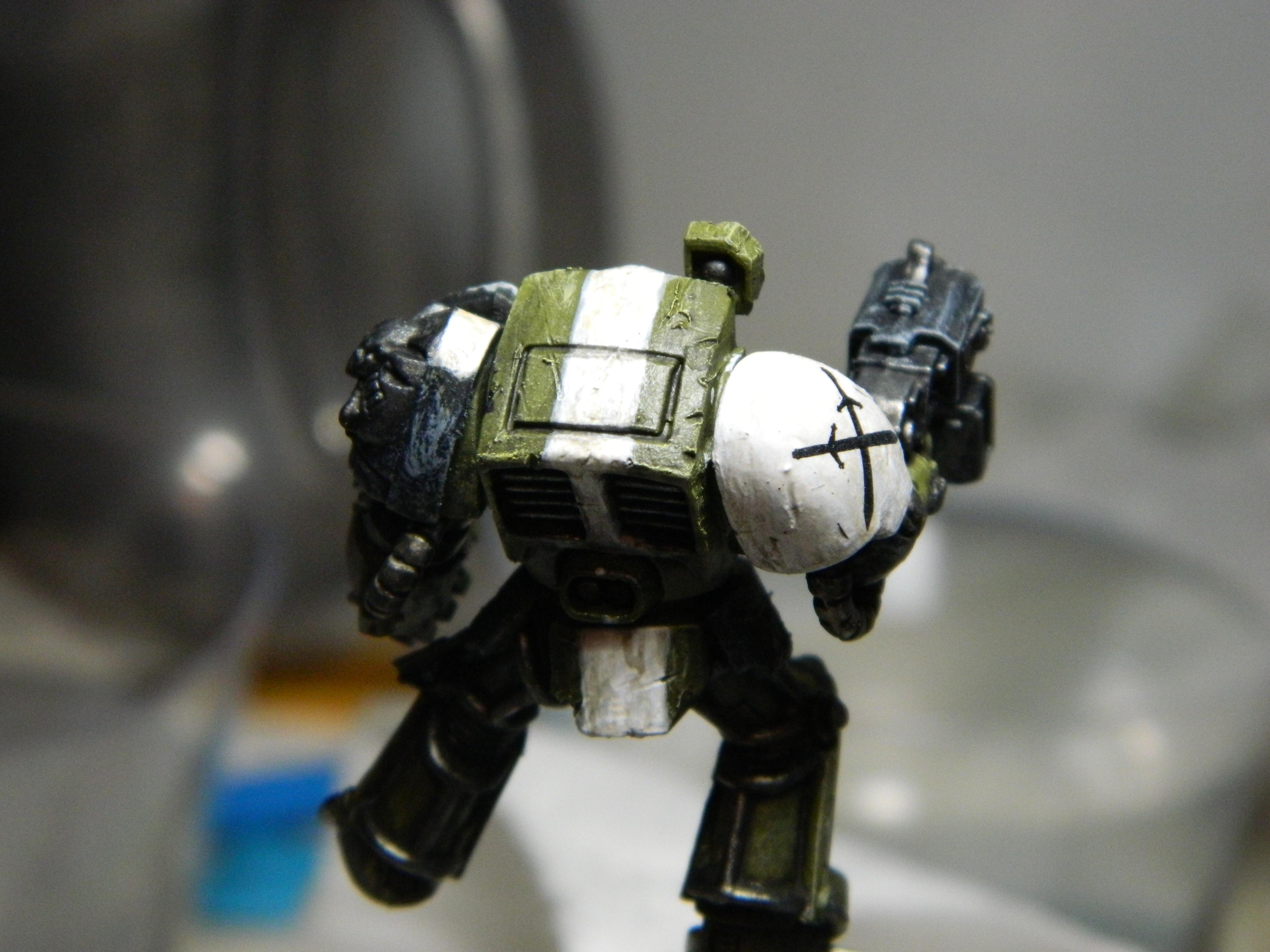 Terminator Armor, test scheme back