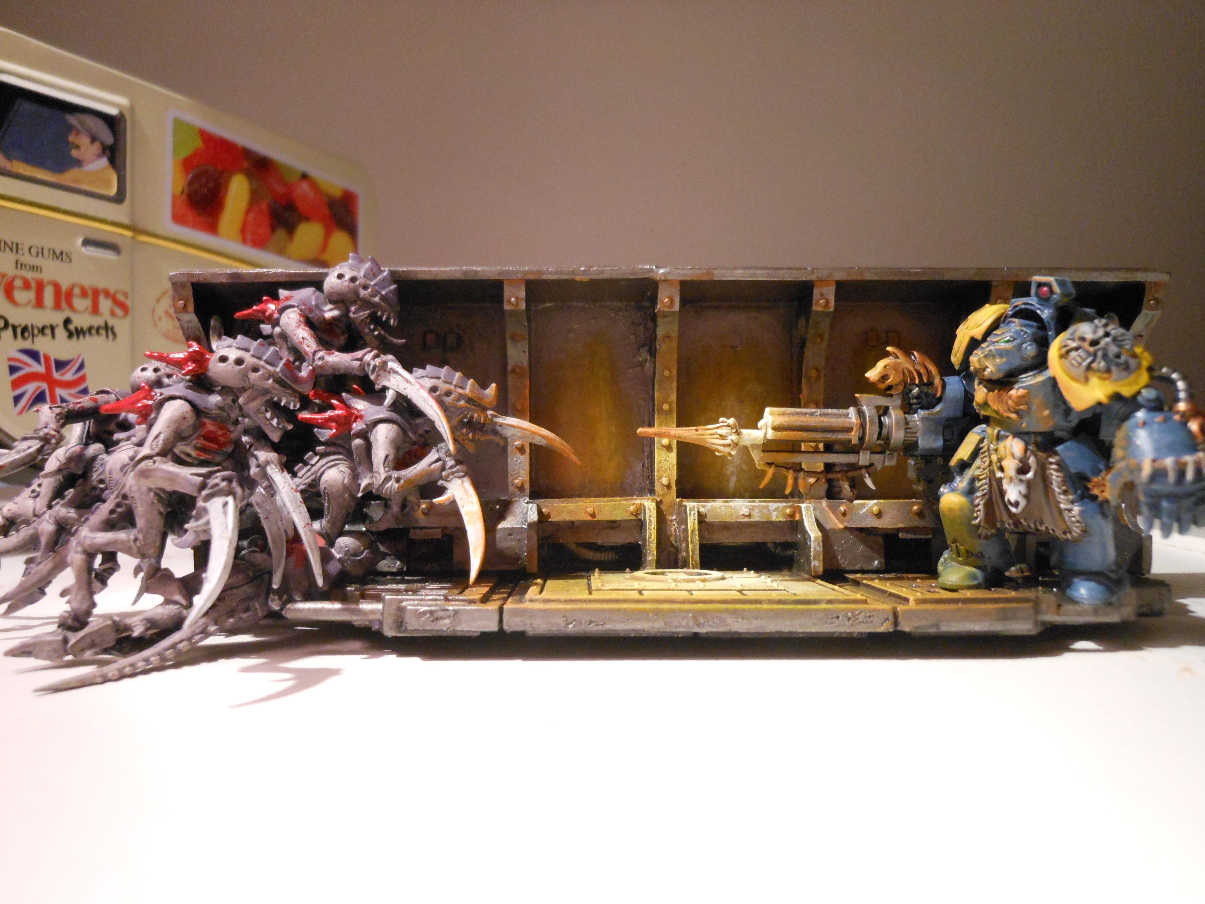 Gore, Hormagaunts, Object Source Lighting, Space Wolves, Spacehulk, Terminator Armor, Tyranids