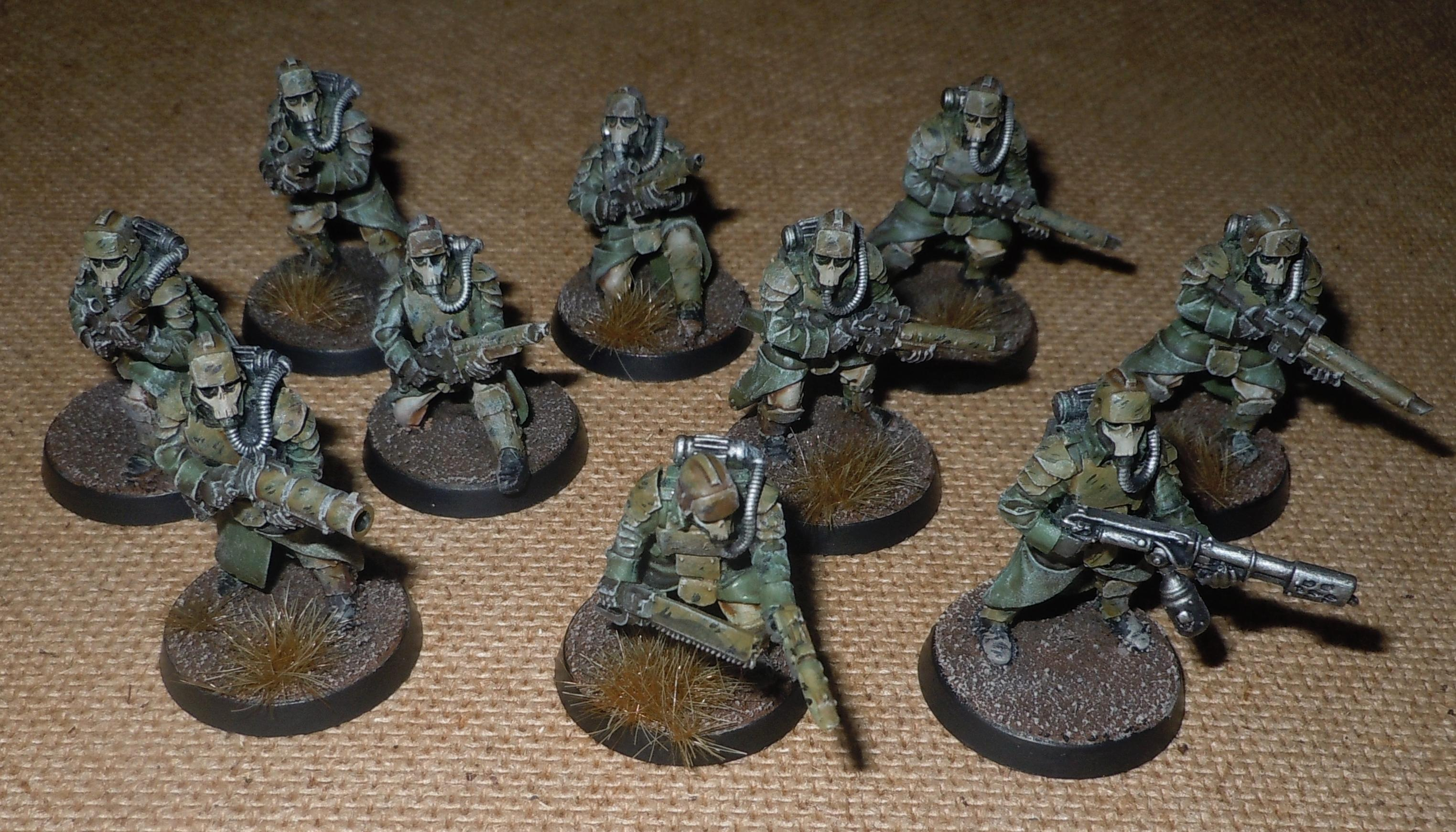 Death Korps Of Krieg  Flamer  Forge World  Grenade Launcher  Grenediers  Imperial Guard  Storm