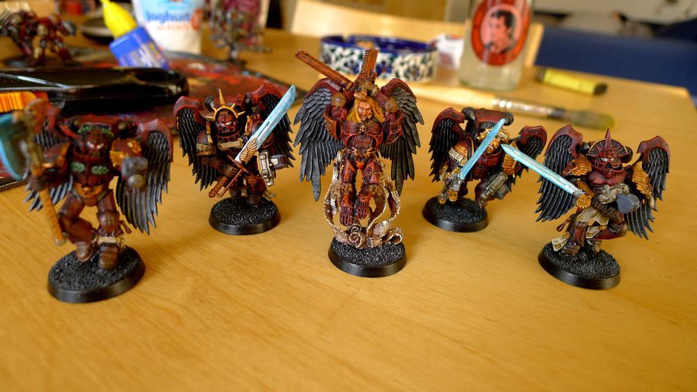Blood Angels, Space Marines, Vanguard, Warhammer 40,000