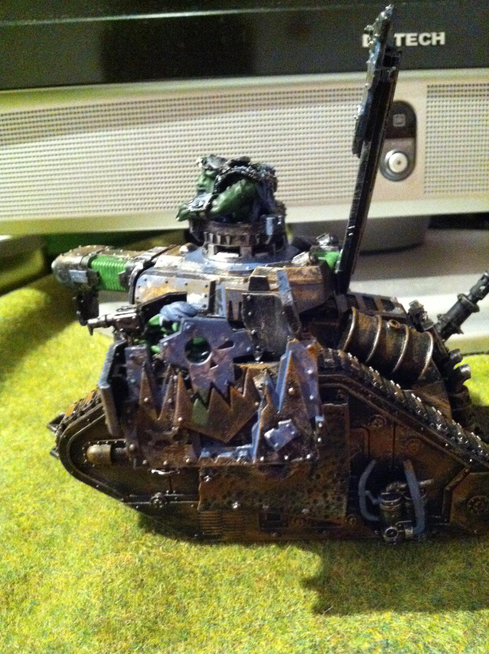 Boom, Gretchin, Grots, Looted, Orks, Tank