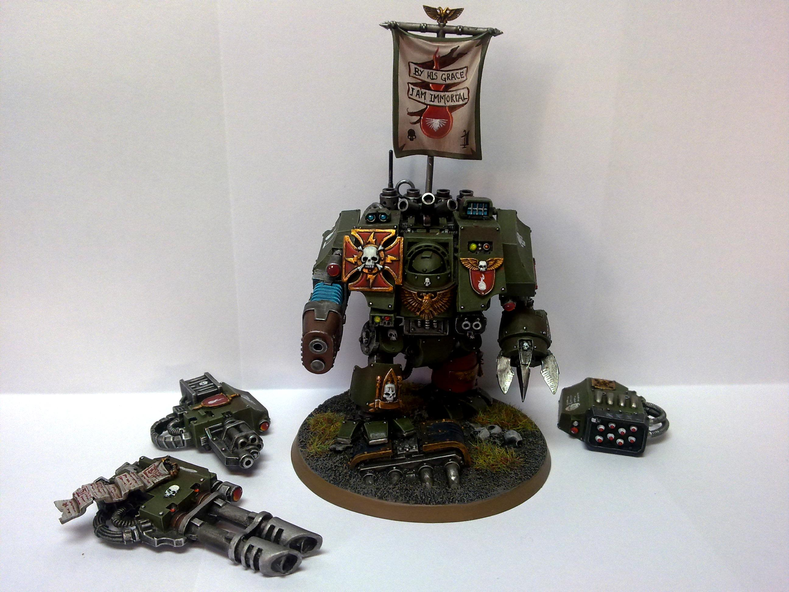 Devil Dogs, Dreadnought, Magnet, Space Marines