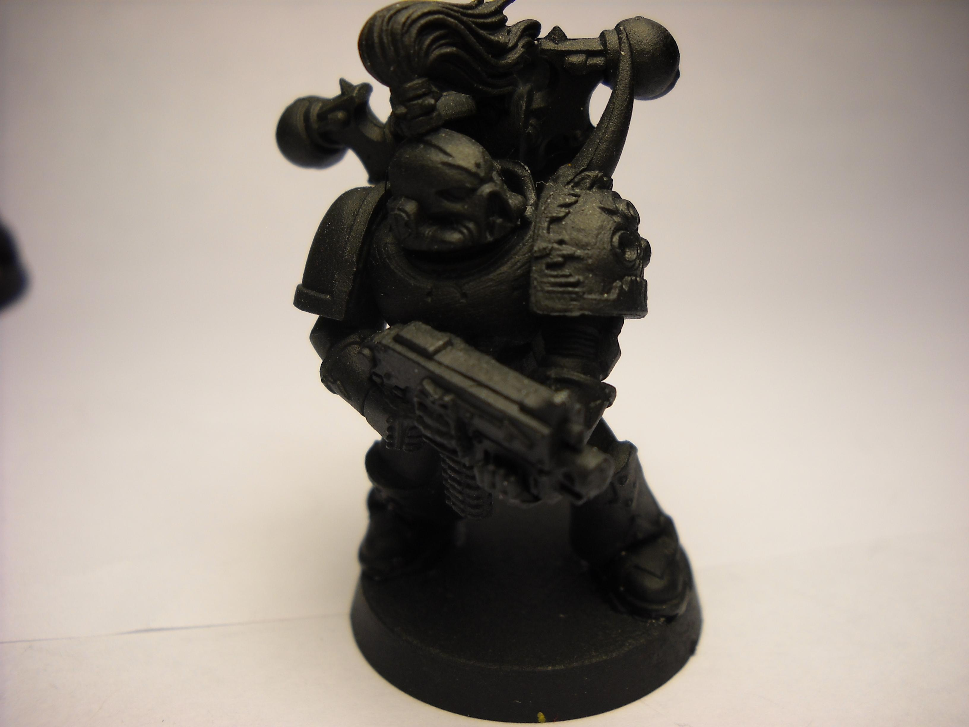 Chaos, Chaos Space Marines, Chaos Undivided, Primered