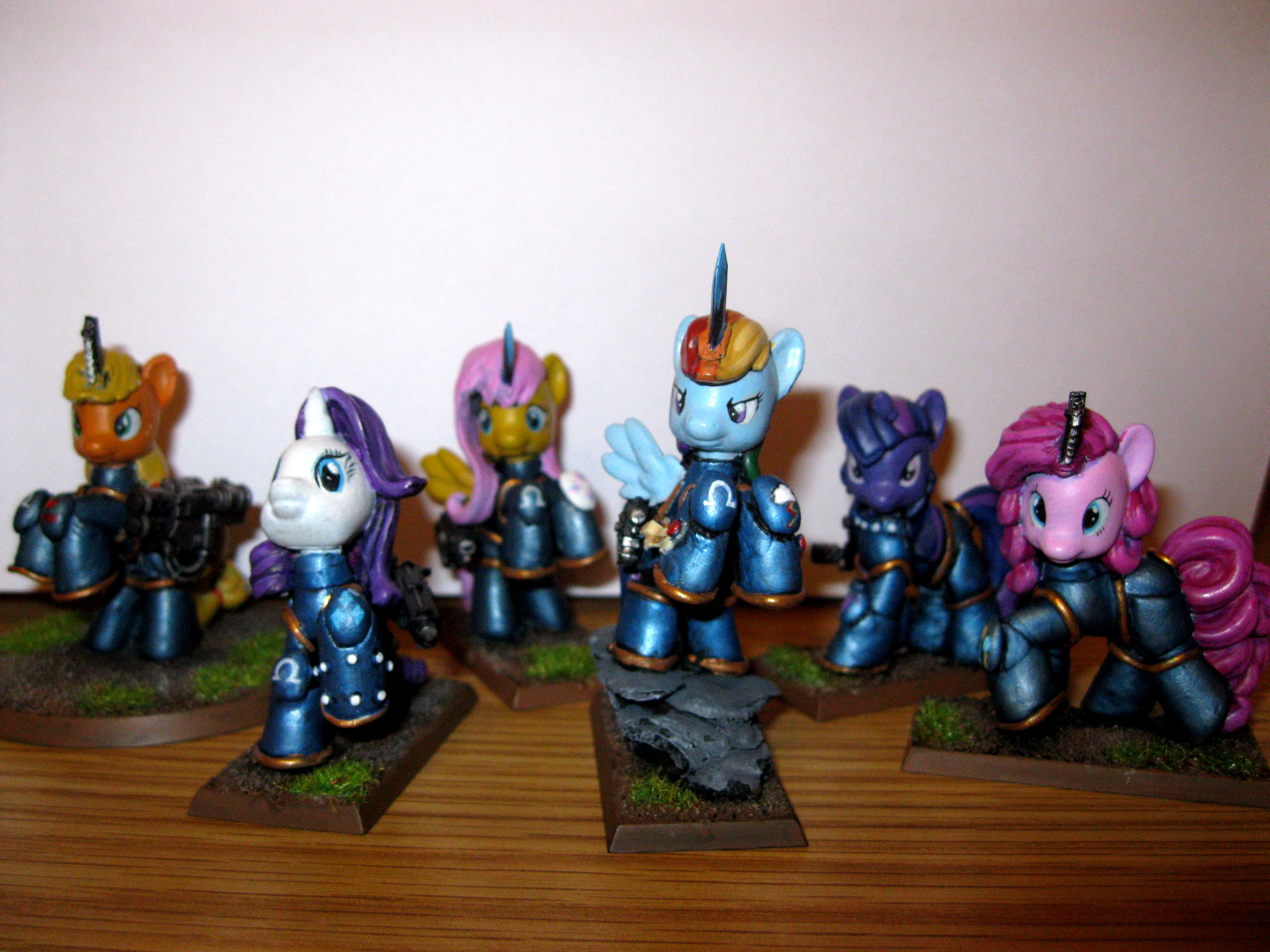 Cute, Humor, My Little Pony, Space Marines, Stupid